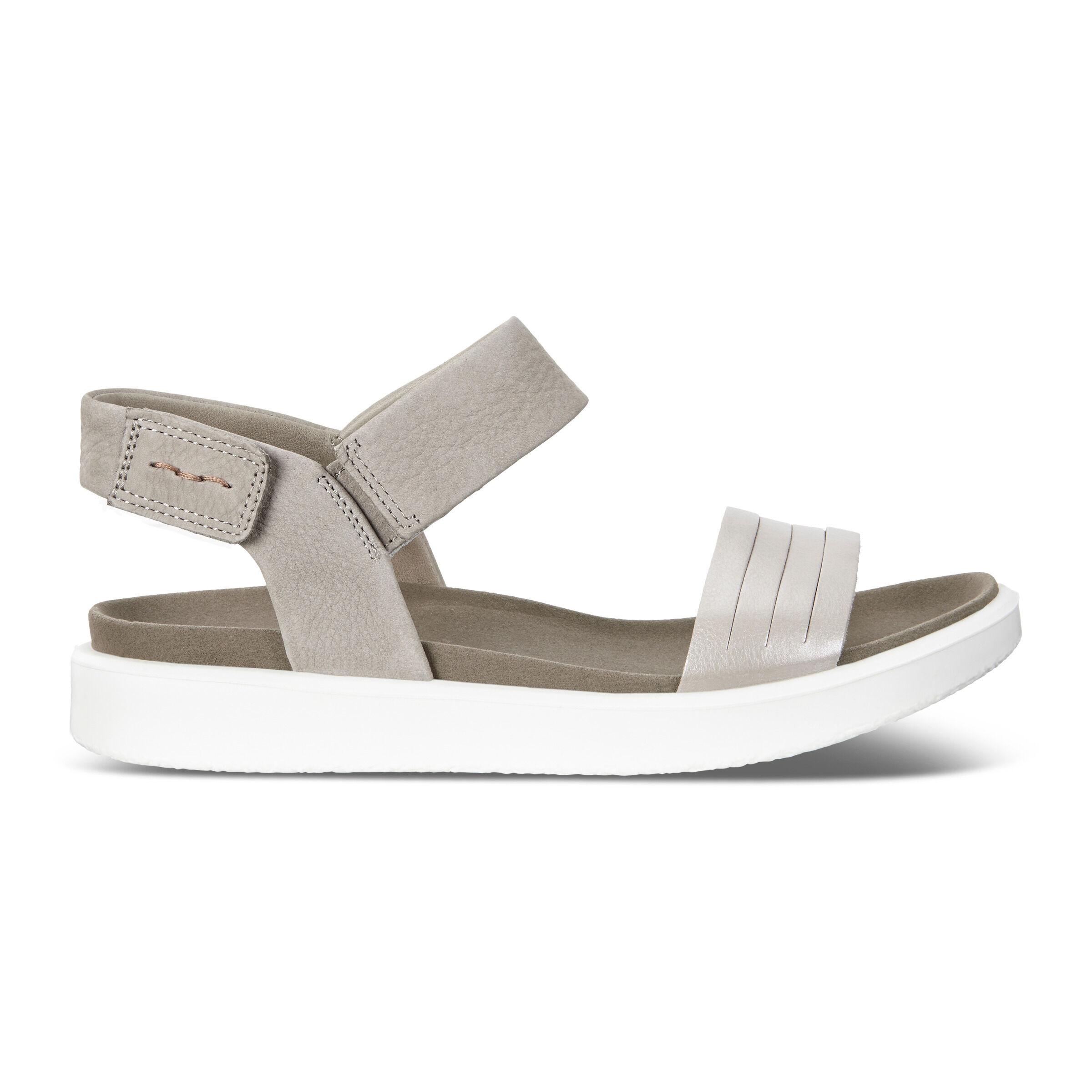 Ecco Flowt SandalWomen's Strap Ankle Ecco® Flat Shoes Sandals K13JFTlc