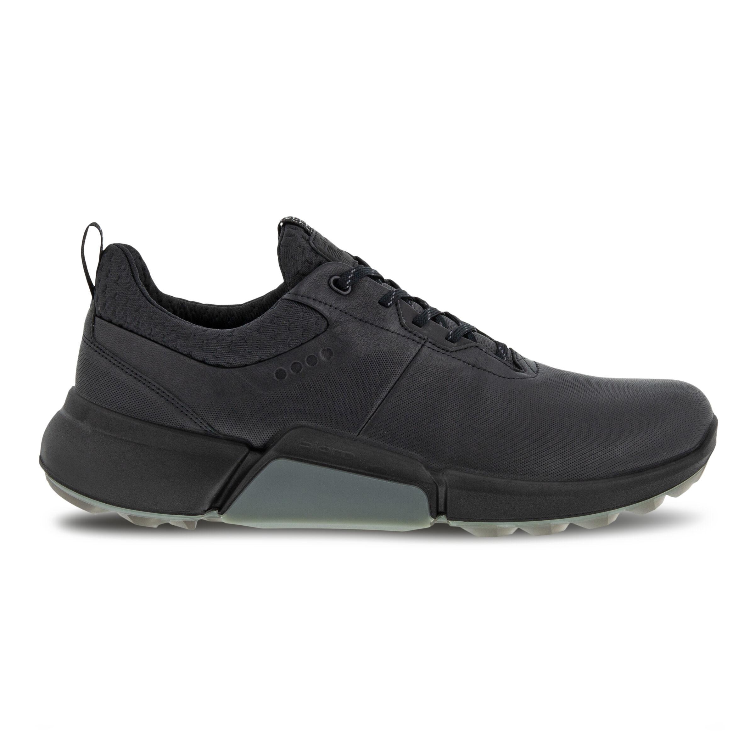 에코 맨 골프화 ECCO Mens BIOM H4 Golf Shoe,BLACK