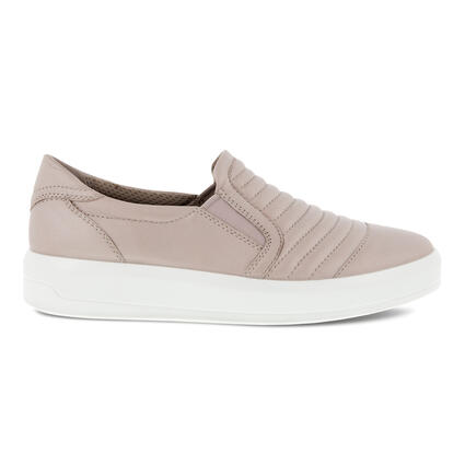 ECCO SOFT 9 II WOMEN'S QUILTED SLIP-ON