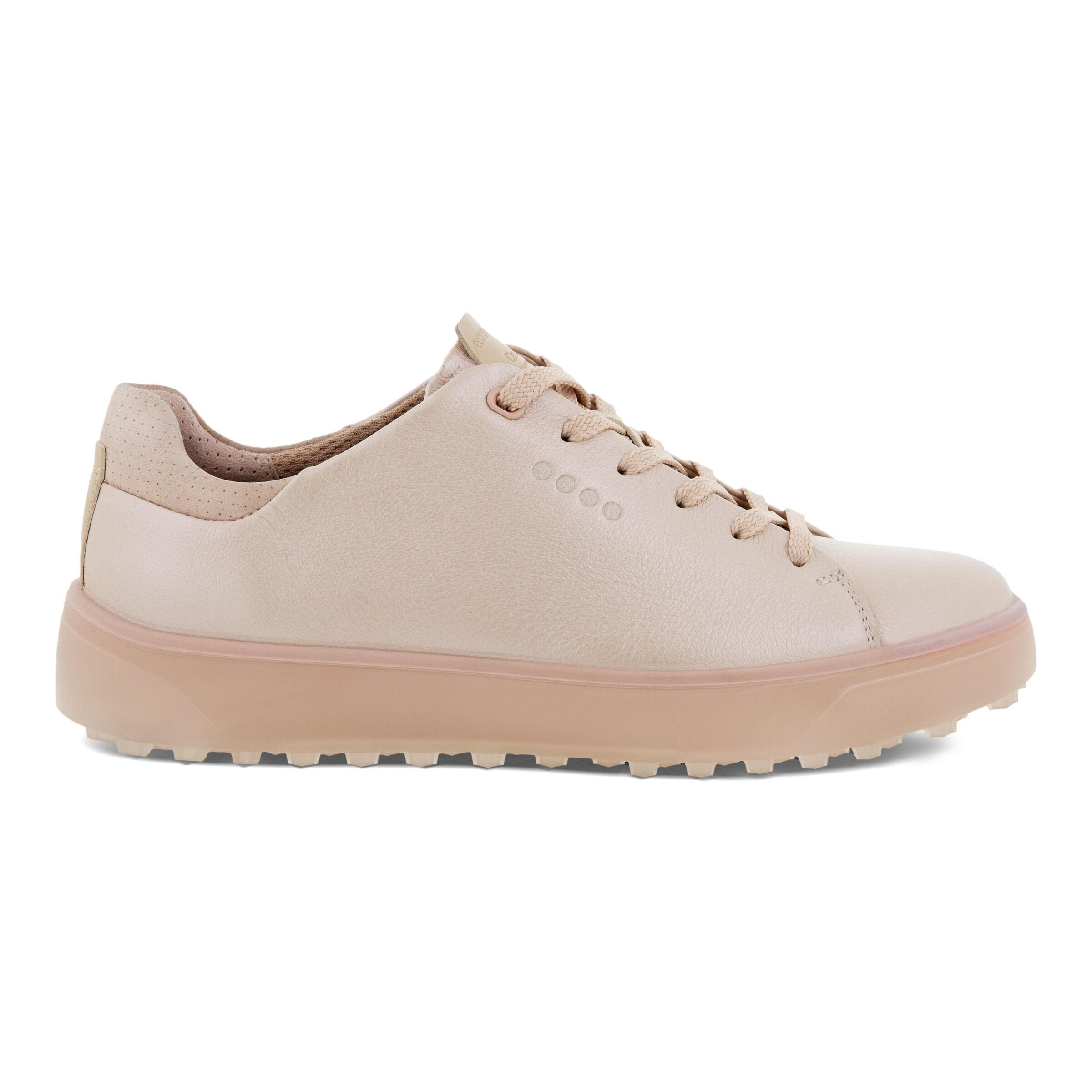 에코 우먼 골프화 ECCO Womens GOLF TRAY Laced Shoes,ROSE PEARL