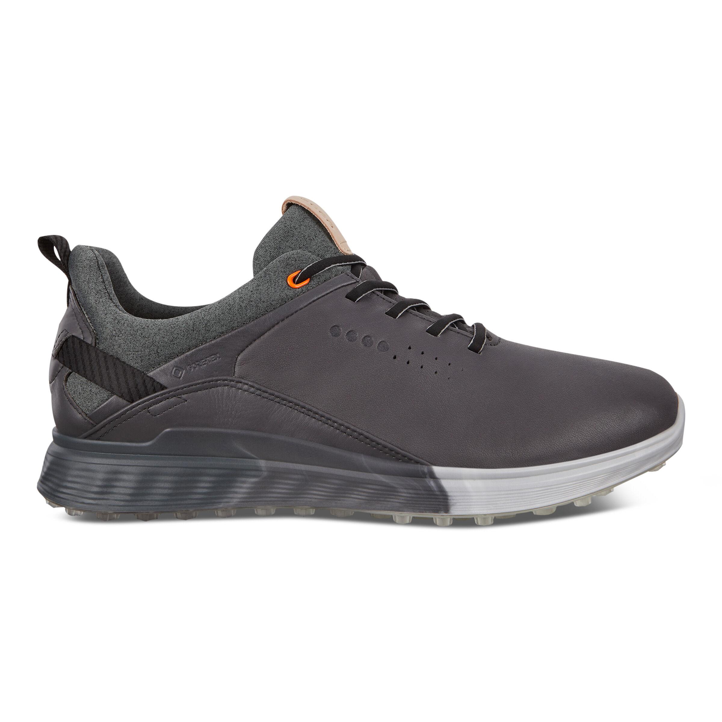 에코 맨 골프화 ECCO Mens S-Three Spikeless Golf Shoes,MAGNET