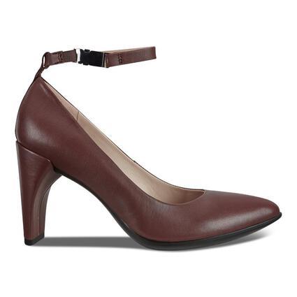 ECCO SHAPE 75 Women's POINTY SLEEK 2.0 Ankle Strap Heels