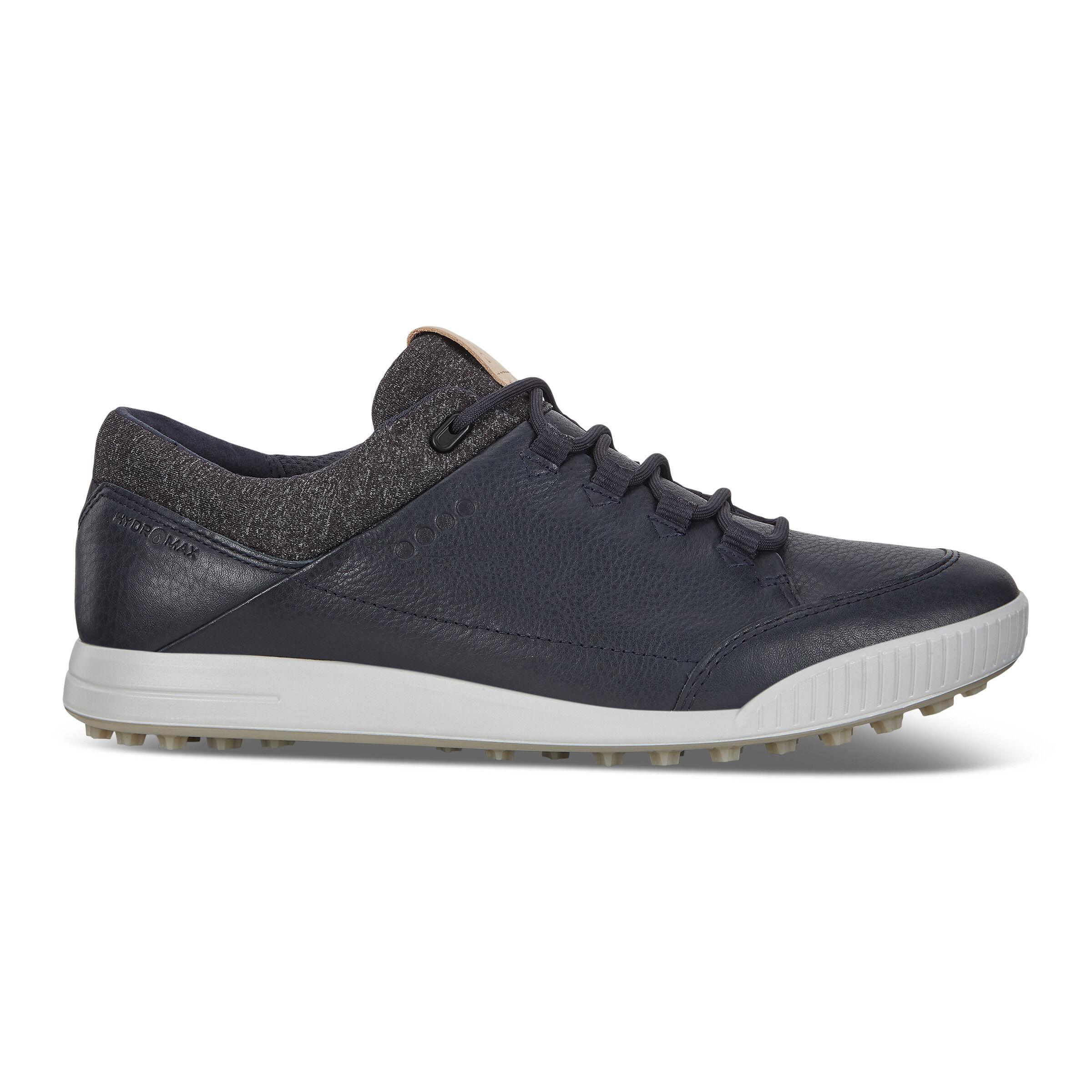 에코 맨 골프화 ECCO Mens STREET RETRO Golf Shoes,MARINE