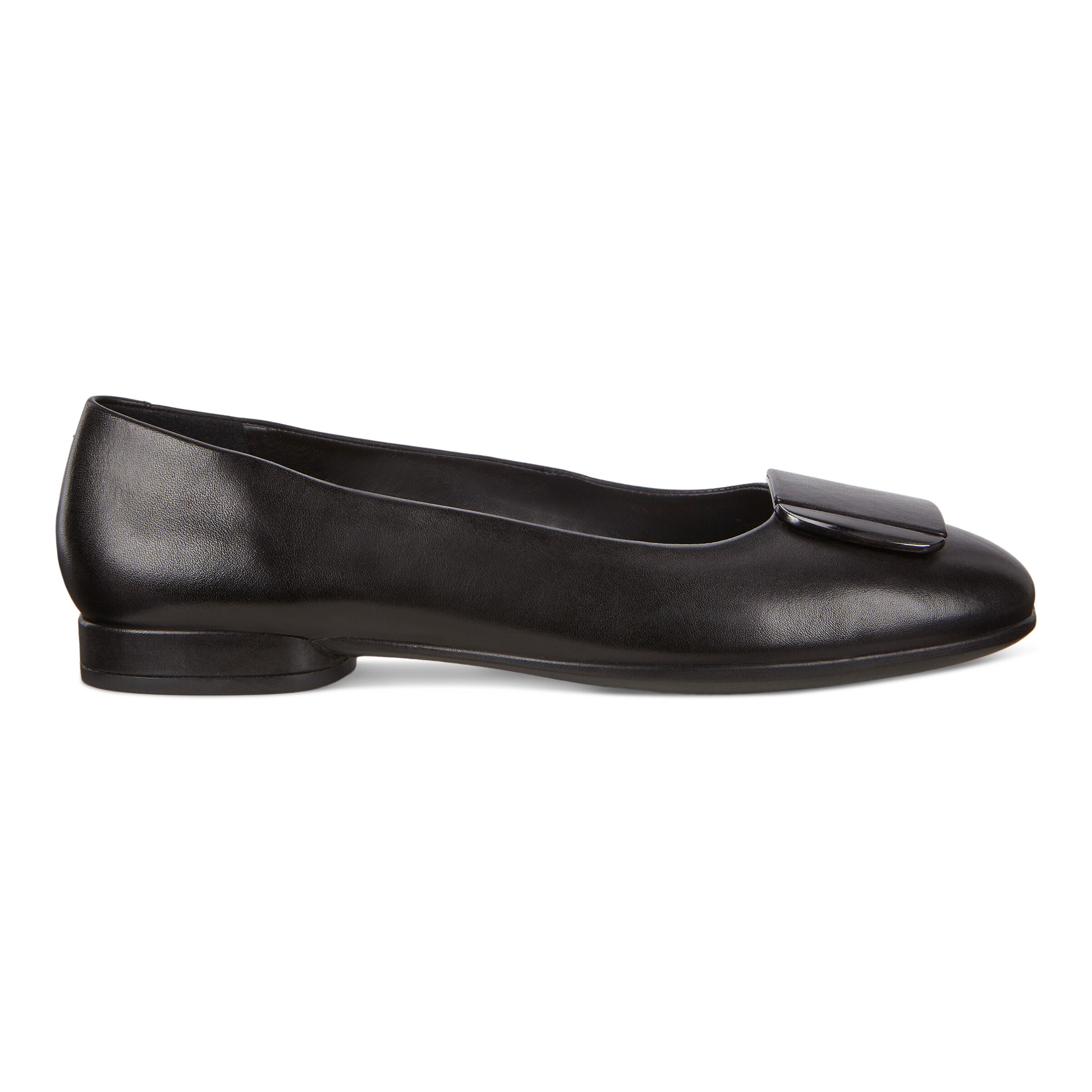 에코 ECCO Anine Womens Ballerina Shoes,black