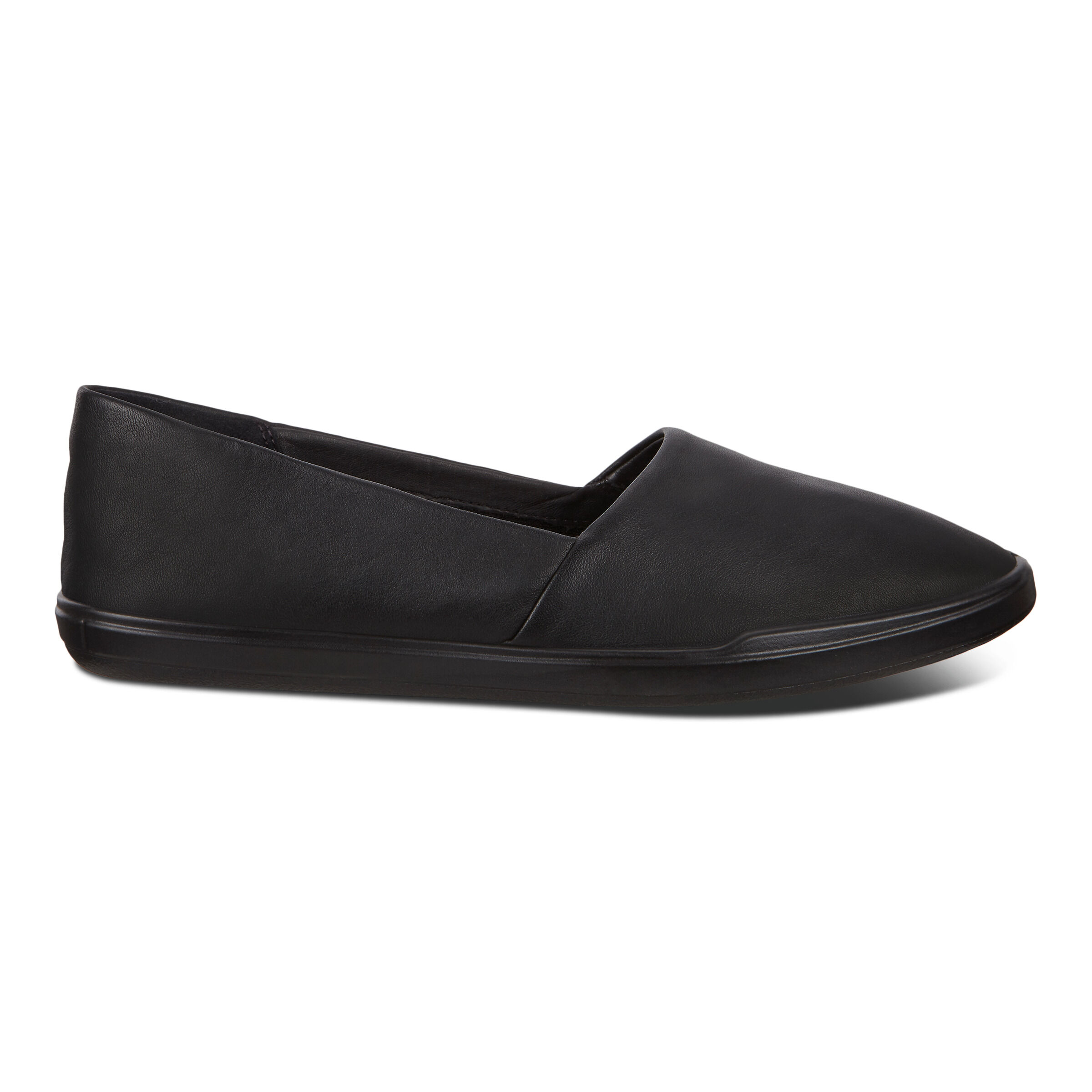 에코 ECCO Simpil Womens Loafers,BLACK