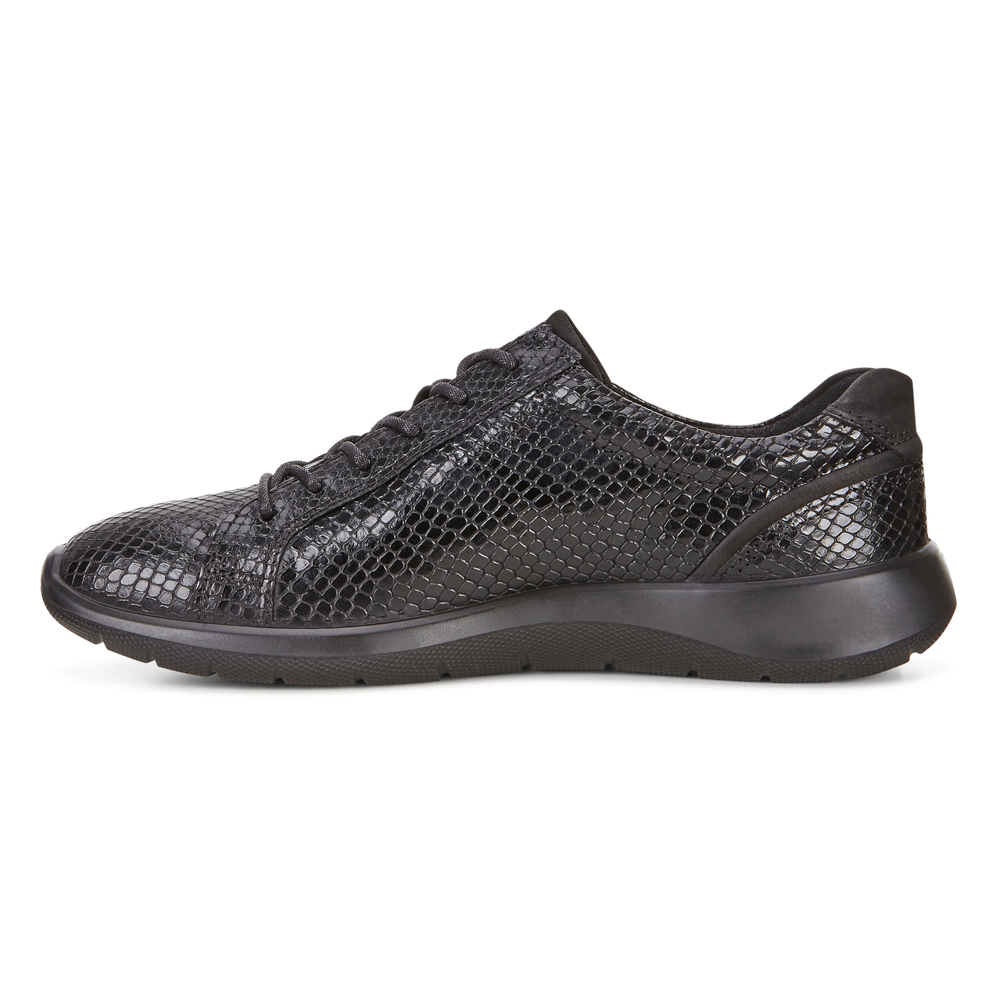 ECCO Soft 5 Side Zip Sneaker