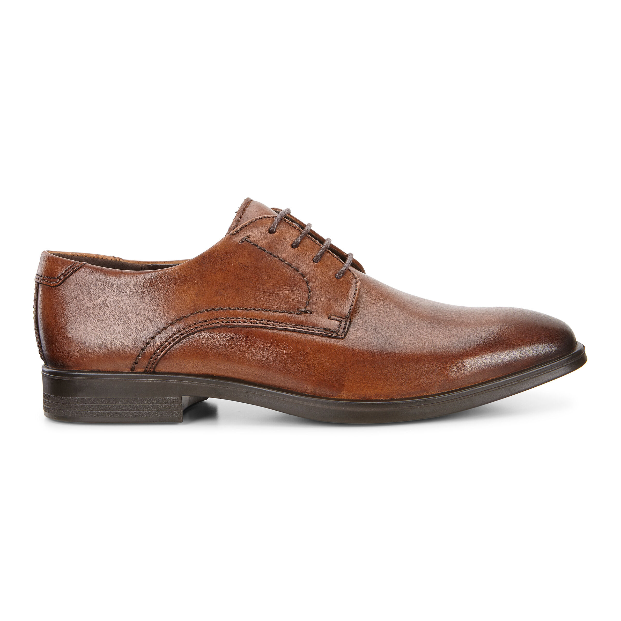 ECCO Melbourne Tie Oxford NEW Men's Shoes in Amber Leather