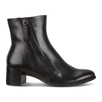 ECCO SHAPE 35 Women's BLOCK Zippered Ankle Boot