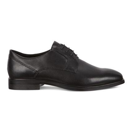 ECCO QUEENSTOWN Plain-Toe Derby Men's Shoe