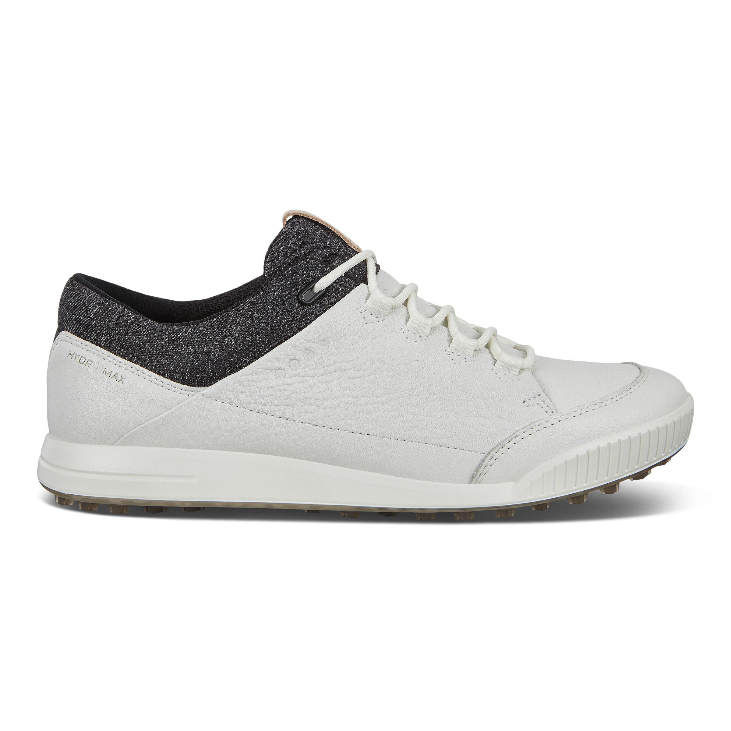 에코 맨 골프화 ECCO Mens STREET RETRO Golf Shoes,BRIGHT WHITE