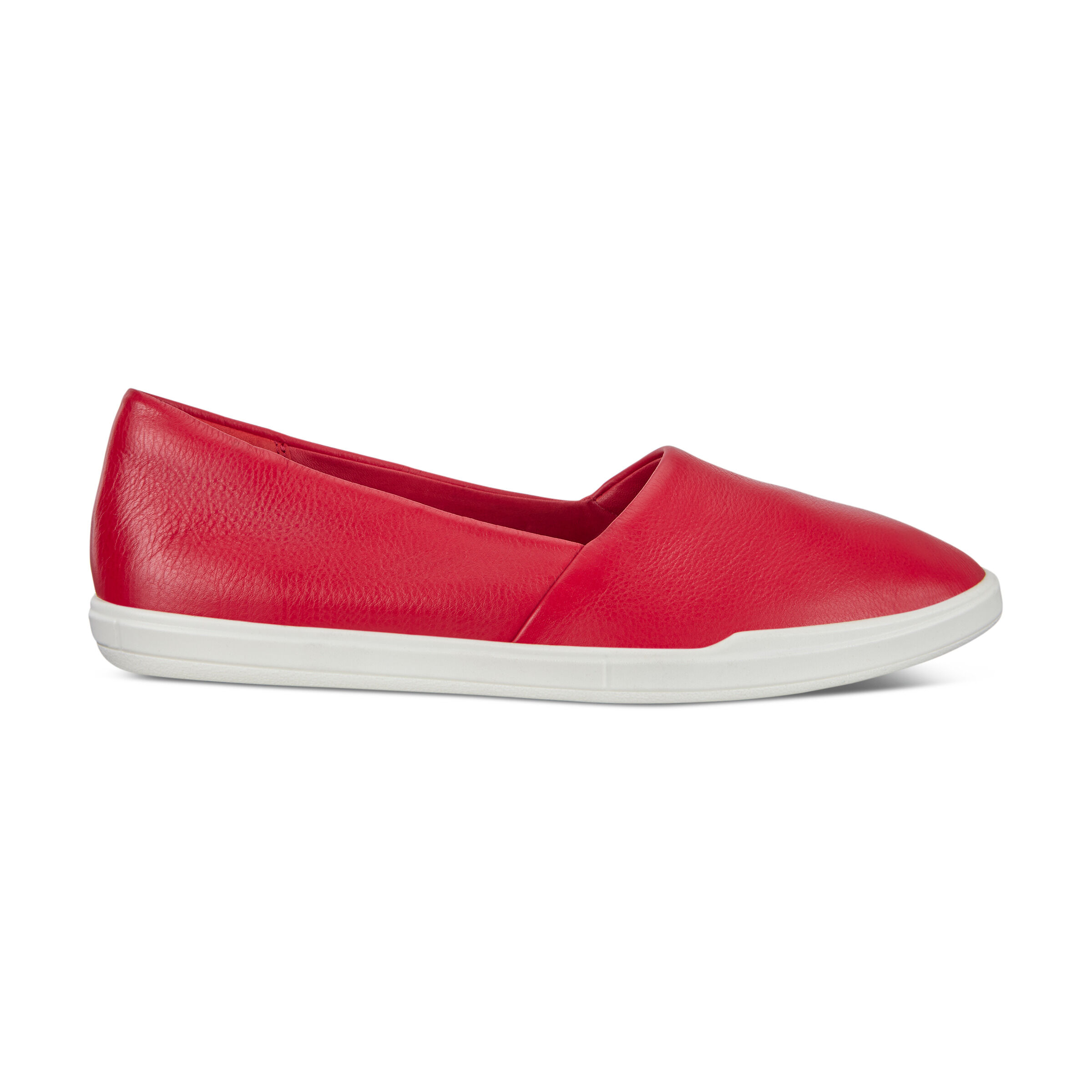 에코 ECCO Simpil Womens Loafers,CHILI RED