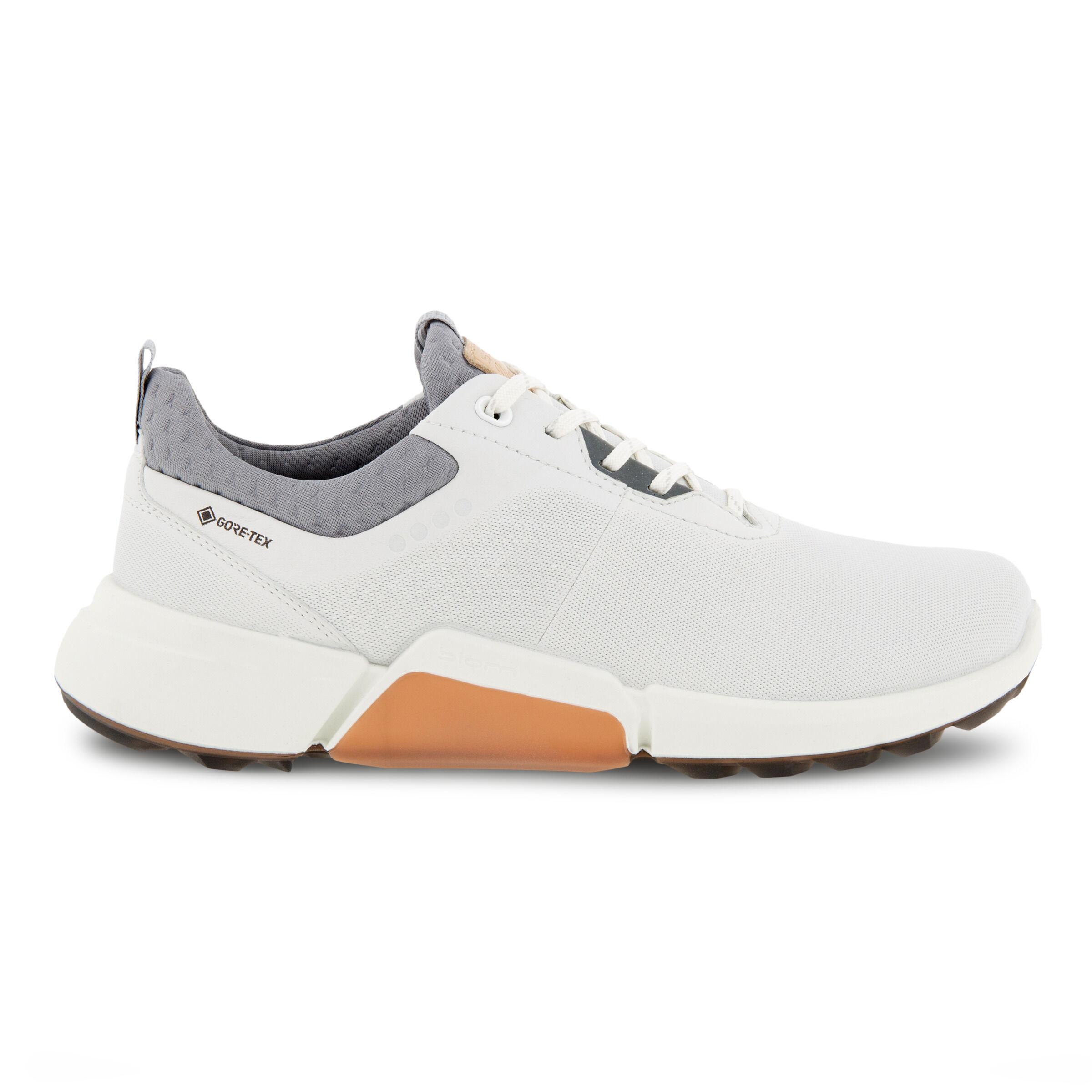 에코 우먼 골프화 ECCO BIOM H4 Womens Golf Shoe,WHITE/SILVER GREY