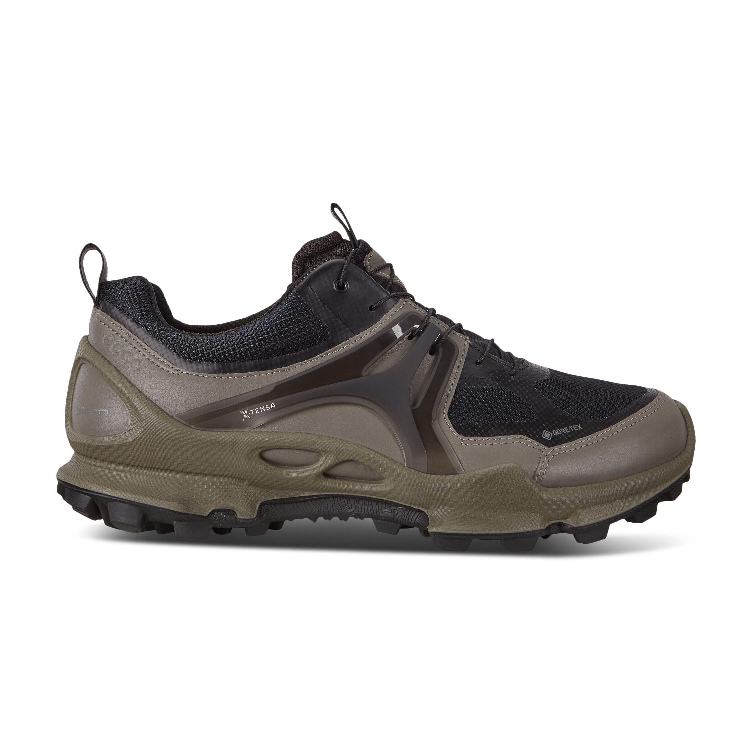 ECCO BIOM C-trail Mens Low GTX Shoes Sneakers Size 10/10.5 Warm Grey
