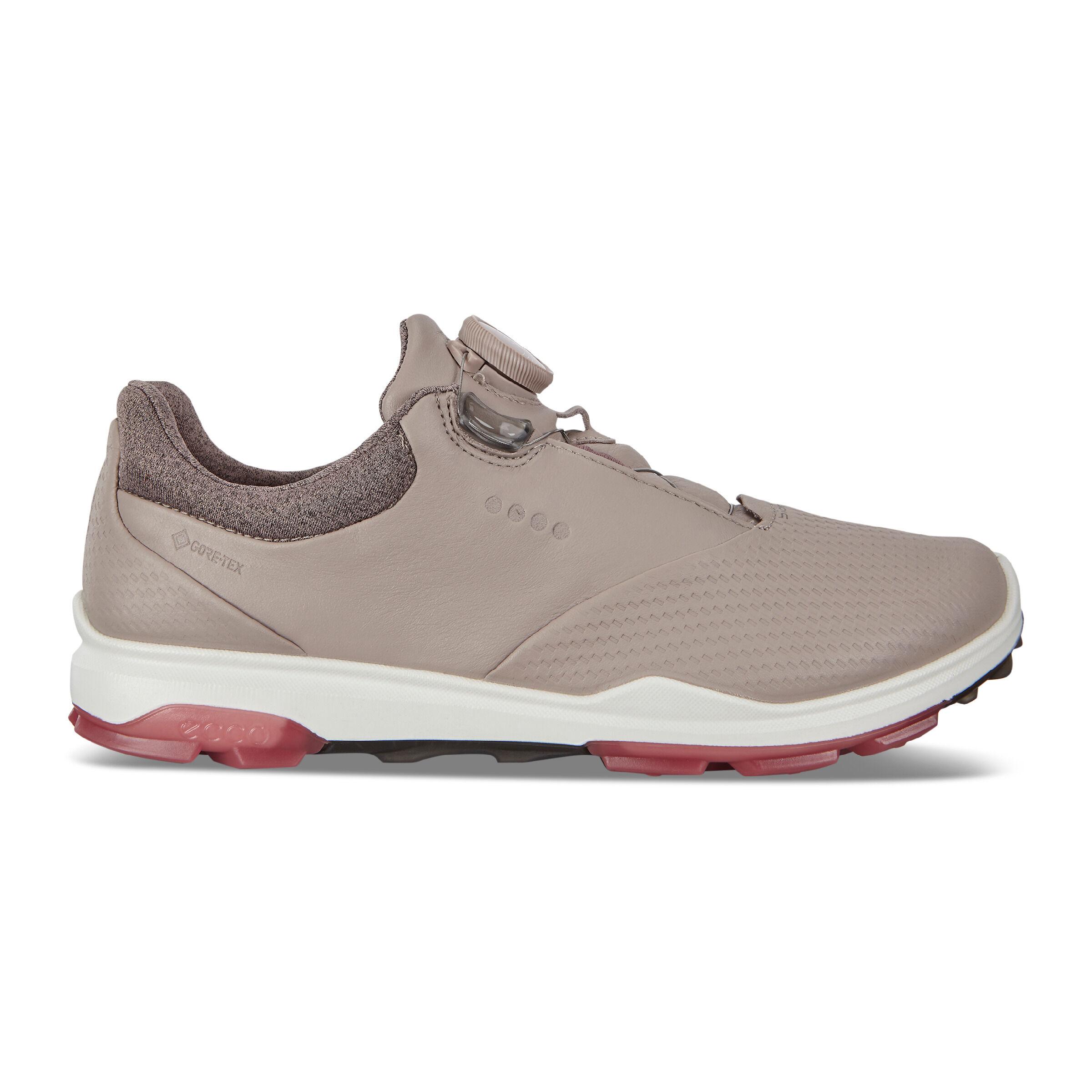 에코 ECCO Womens BIOM Hybrid 3 BOA Golf Shoe,GREY ROSE/PETAL