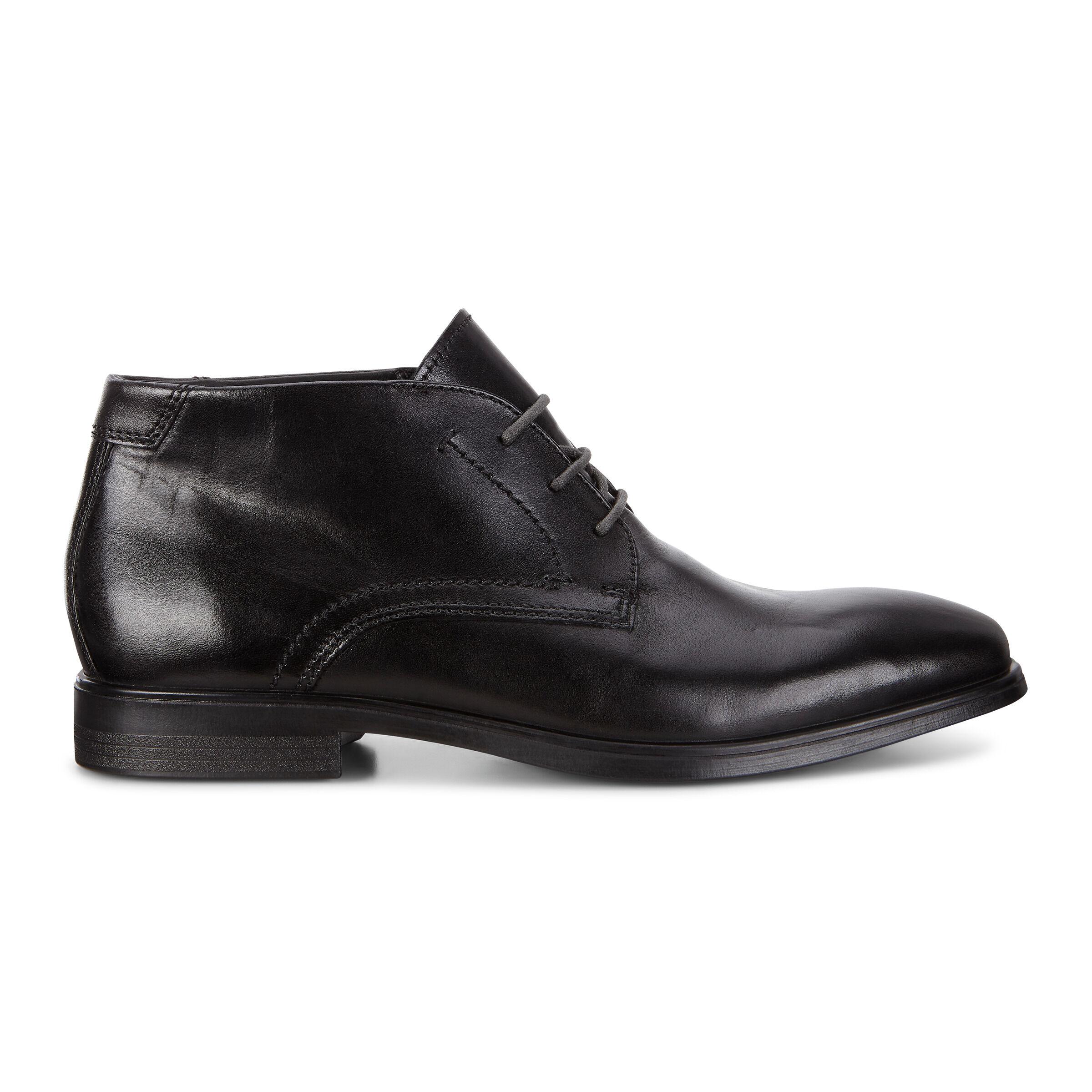 에코 맨 드레스 부츠 ECCO Melbourne Mens Dress Boot,black/magnet