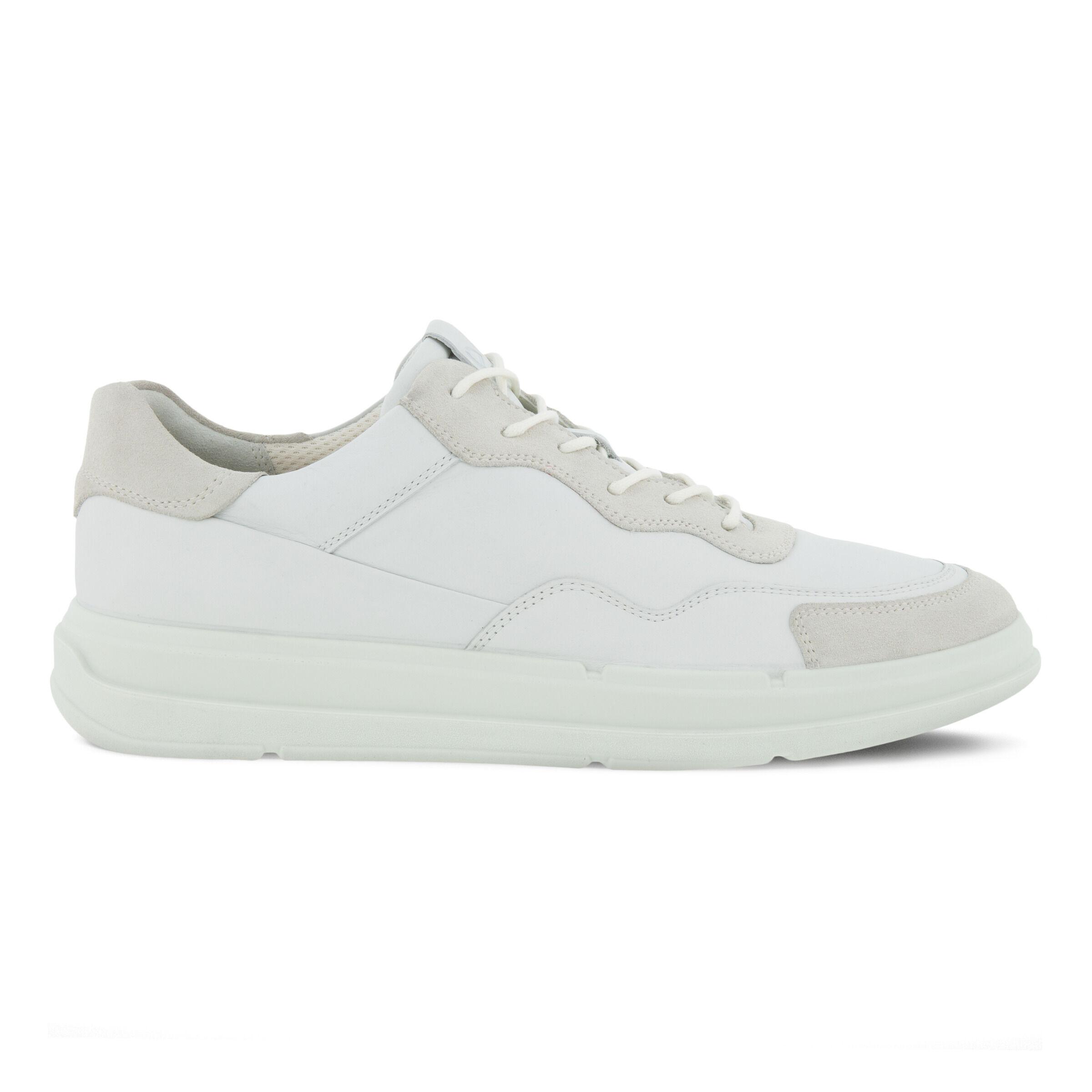 에코 ECCO SOFT X Mens Shoe,SHADOW WHITE/WHITE