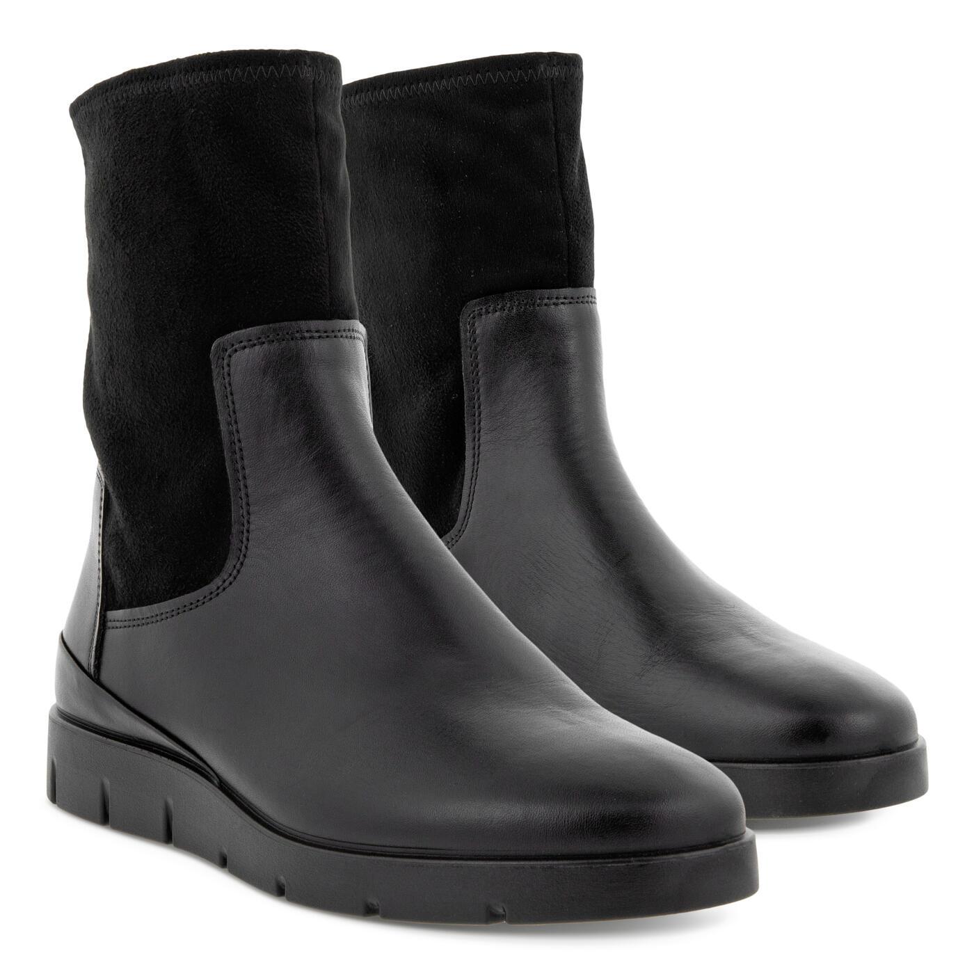 内衬保暖薄绒,超柔软ECCO秋冬靴子限时6折!