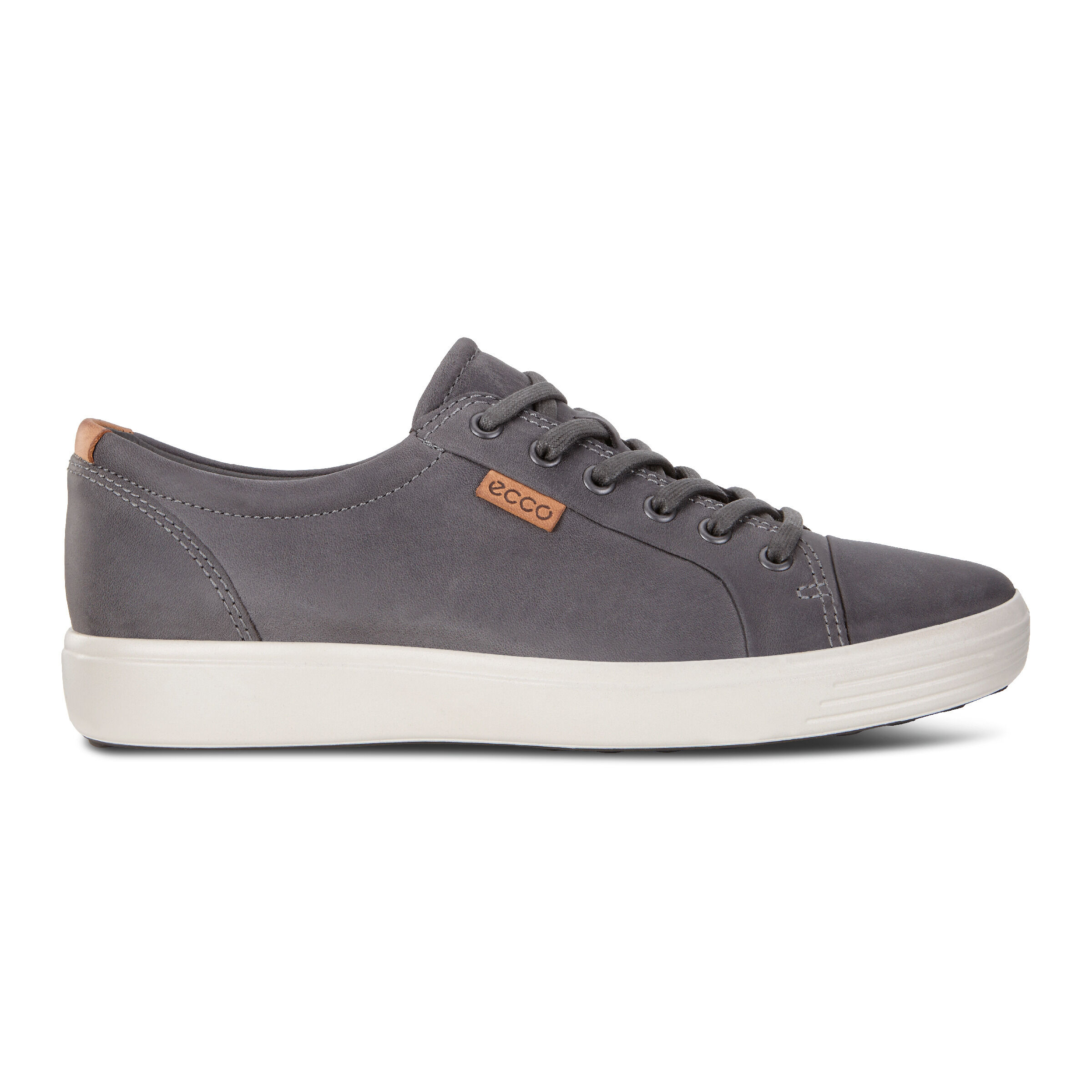 에코 ECCO Soft 7 Mens Sneakers,titanium