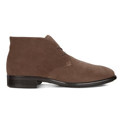 ECCO CITYTRAY Men's Suede Ankle Boot