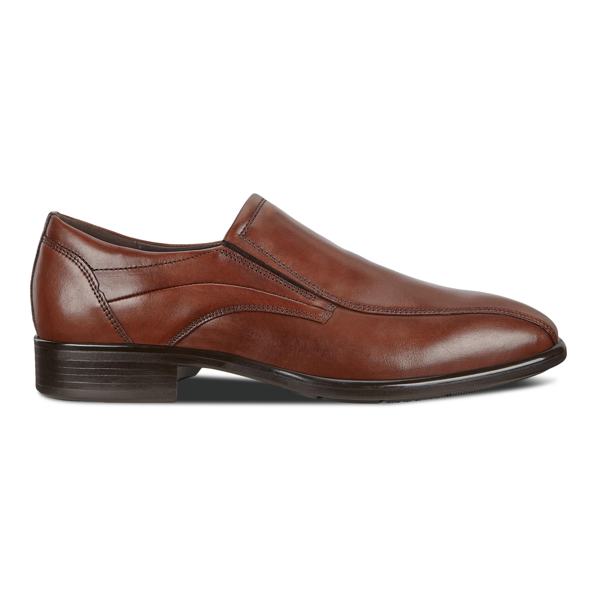 에코 ECCO CITYTRAY Mens Slip On Shoe,cognac