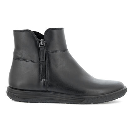 ECCO CHASE II WOMEN'S ZIPPED ANKLE BOOTIE