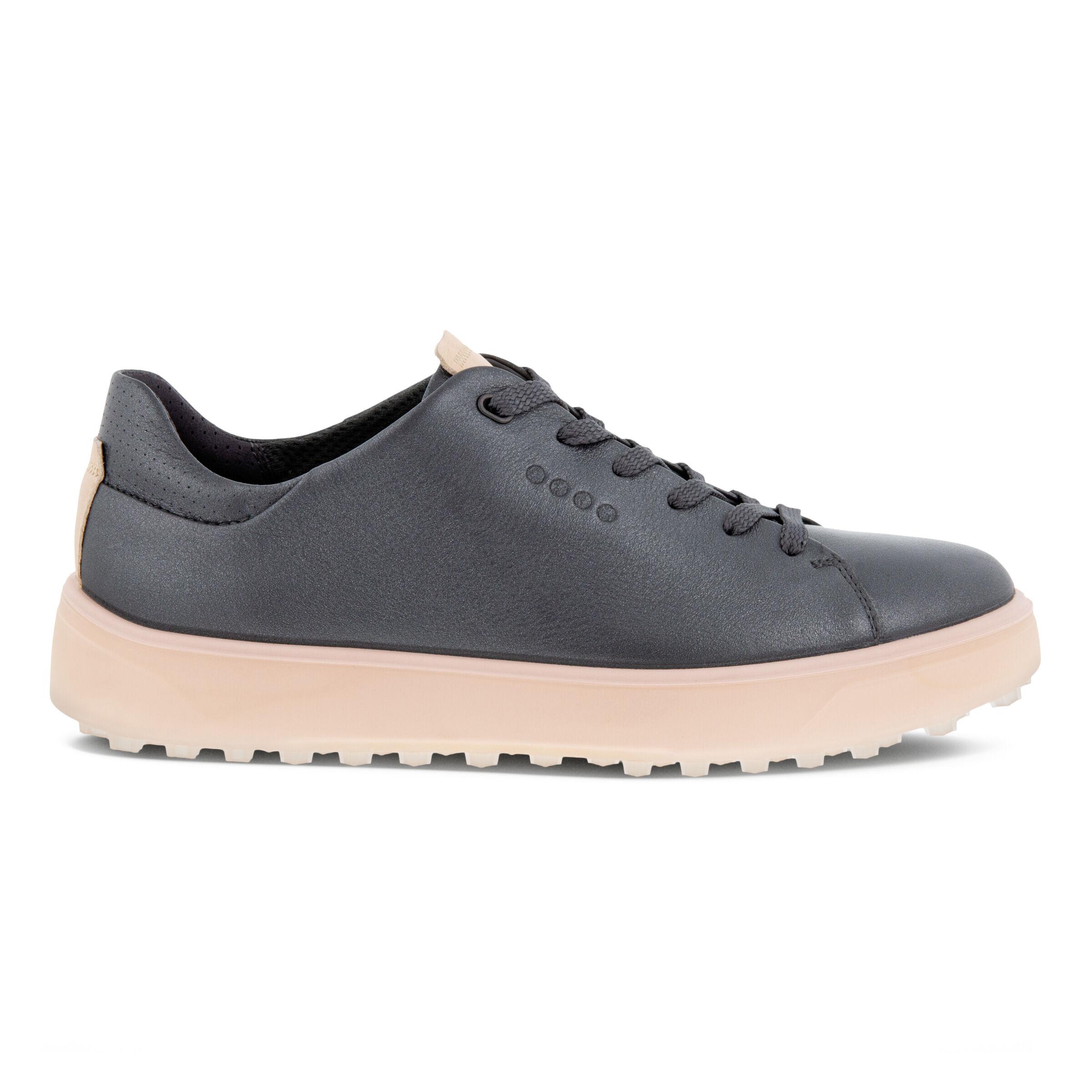에코 우먼 골프화 ECCO Womens GOLF TRAY Laced Shoes,MAGNET