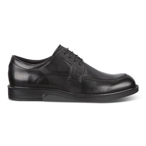 Ecco Men's Vitrus III Oxford (or Slip-on) Shoes (Black)