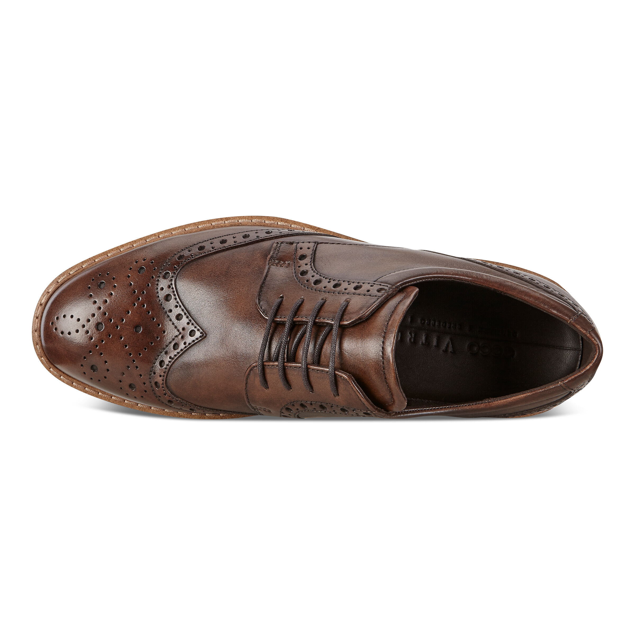 ECCO Men's Vitrus I Wing Tip Tie | Formal Shoes | ECCO? Shoes