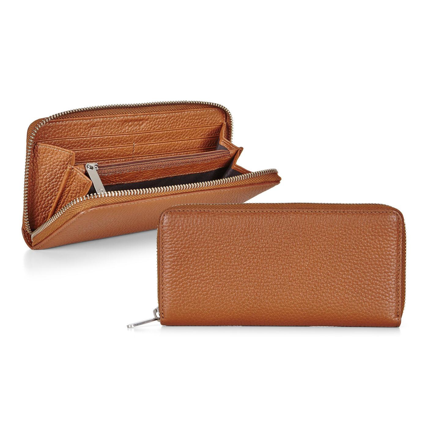 ECCO Isan 2 Large Zip Wallet