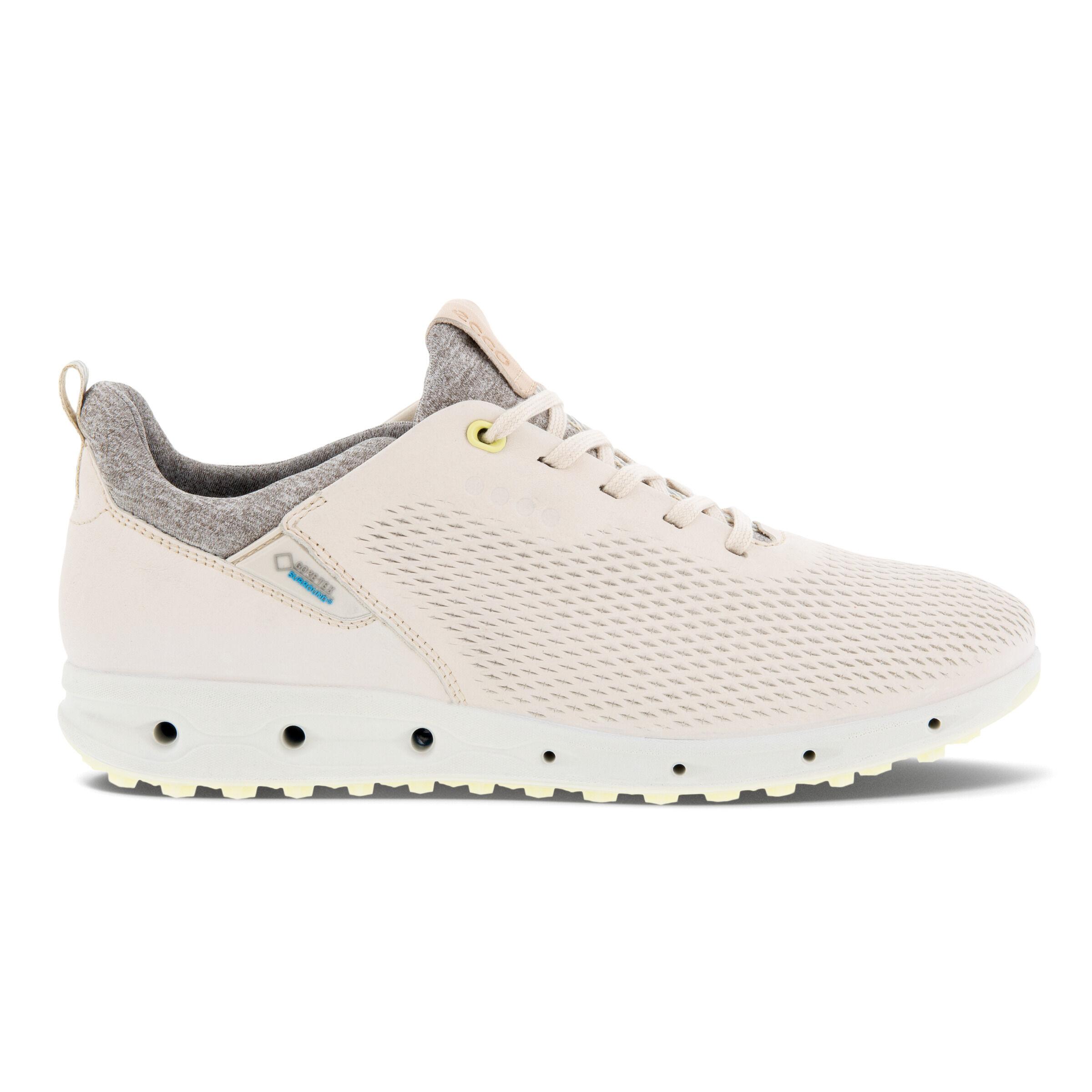 에코 우먼 골프화 ECCO Womens Golf Cool Pro Shoes,LIMESTONE