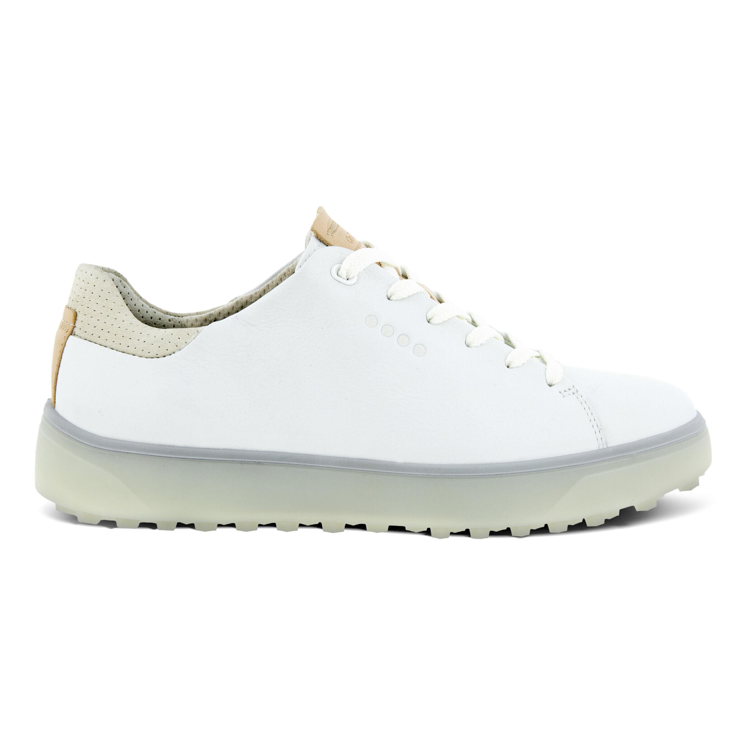 에코 우먼 골프화 ECCO Womens GOLF TRAY Laced Shoes,BRIGHT WHITE