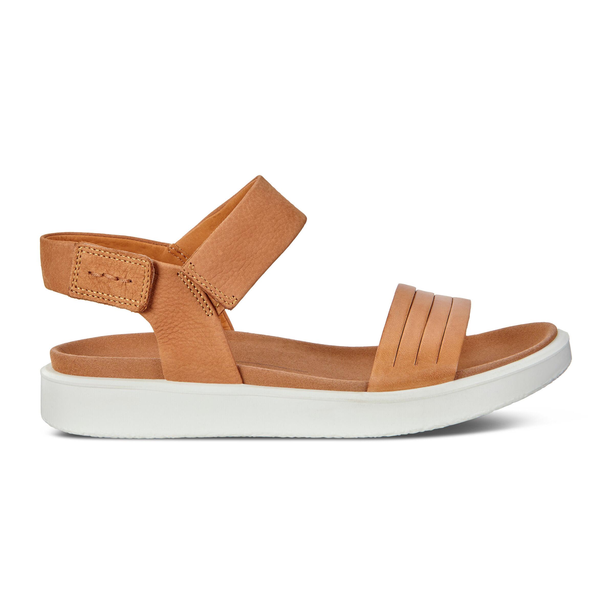 ECCO Flowt Flat Ankle Strap Sandal