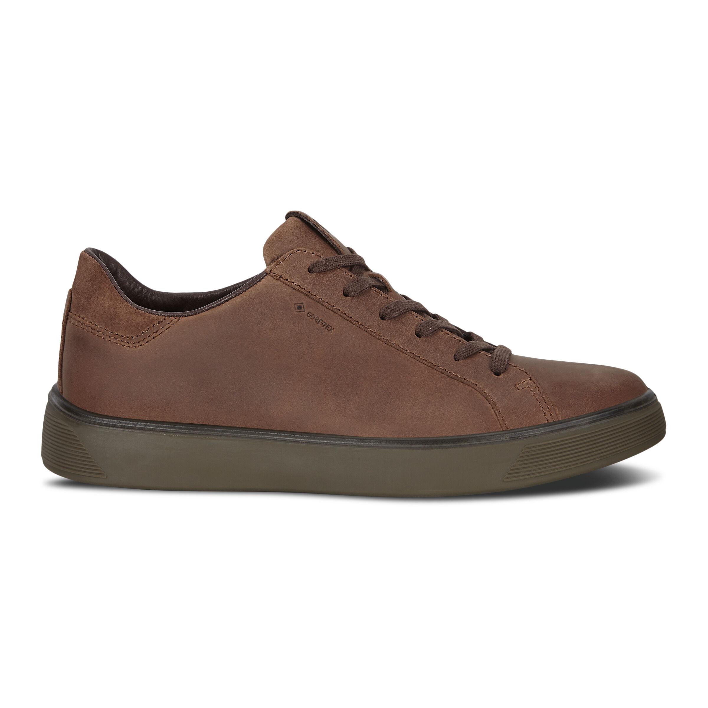 에코 ECCO STREET TRAY Mens Sneakers,COCOA BROWN/COCOA BROWN
