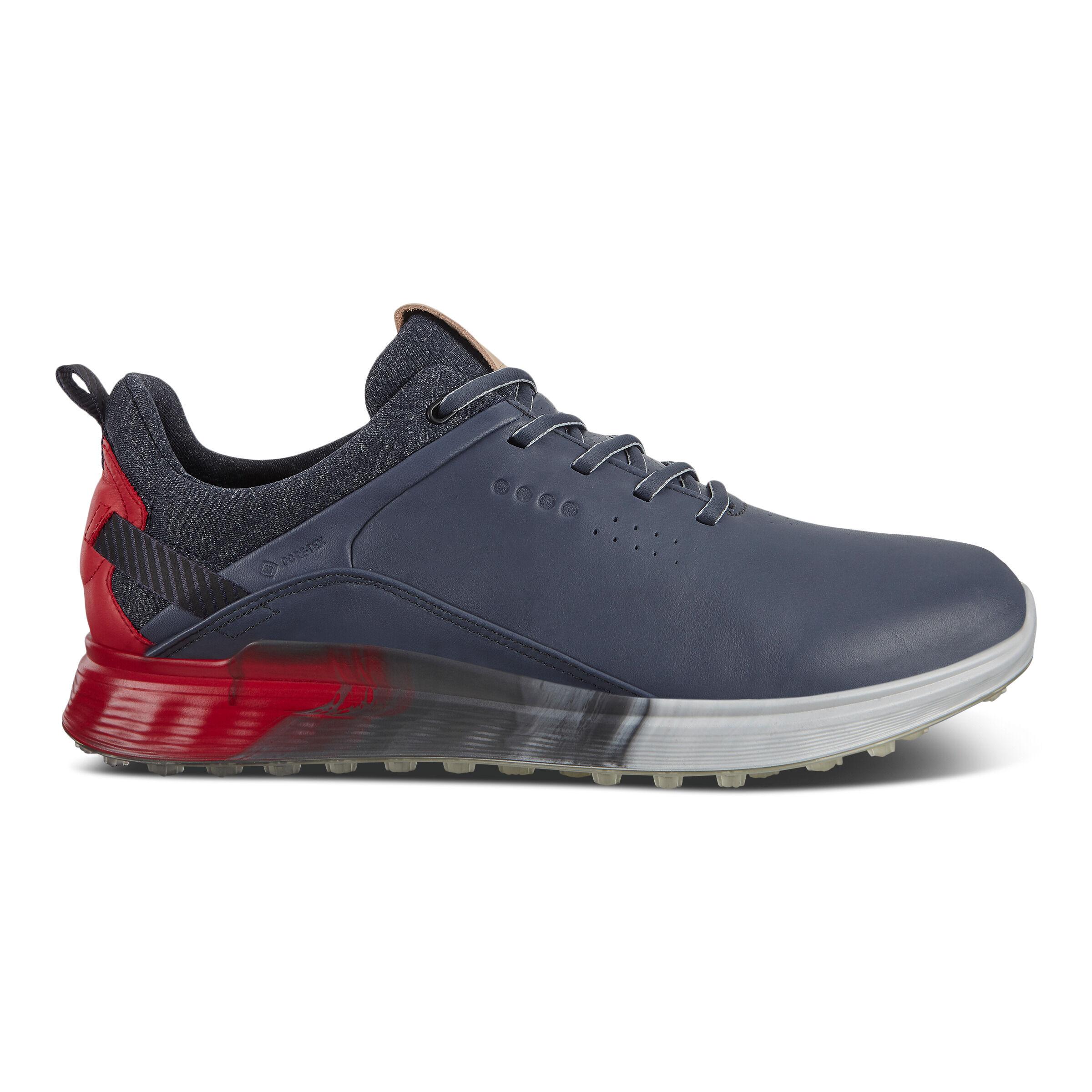 에코 맨 골프화 ECCO Mens S-Three Spikeless Golf Shoes,OMBRE