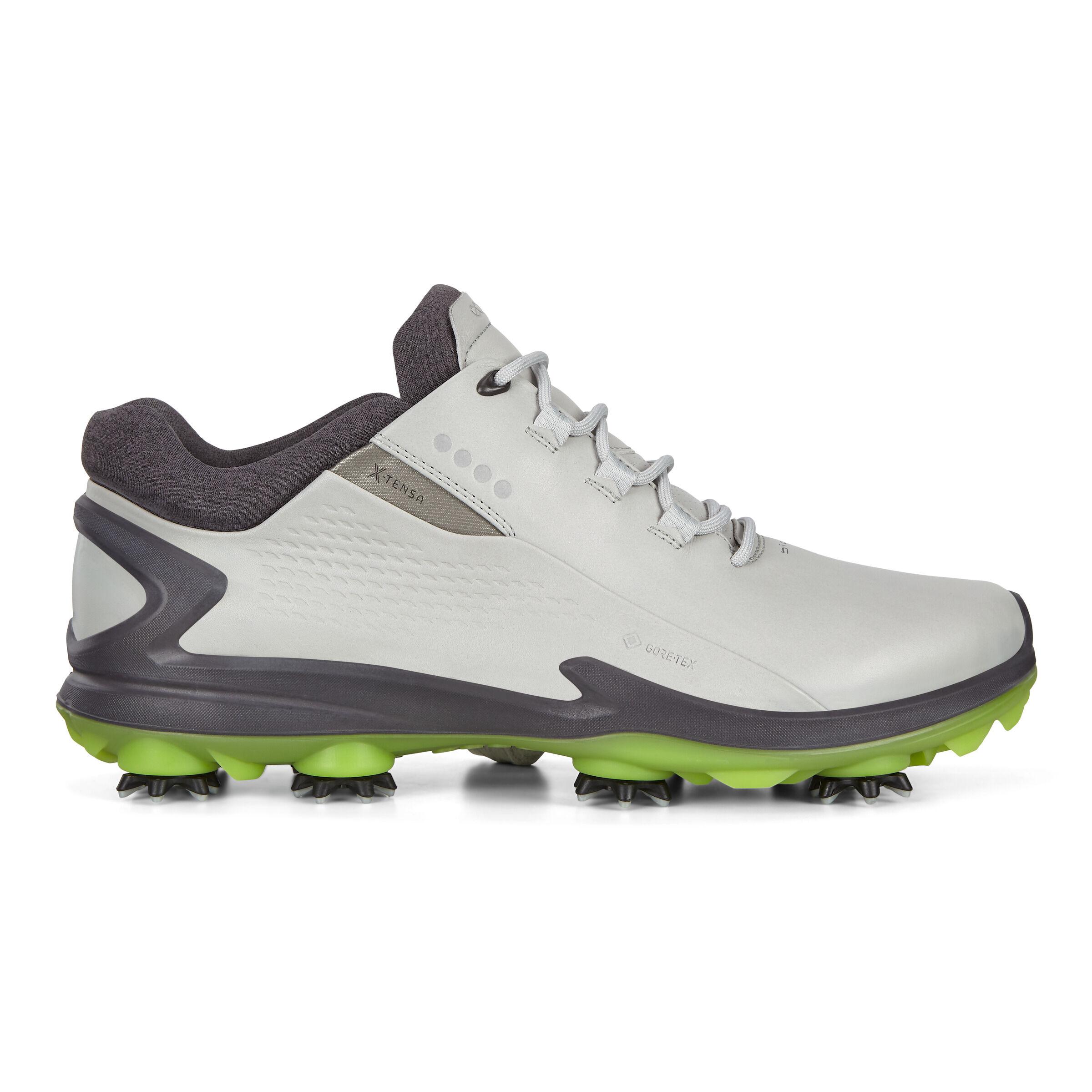 에코 맨 골프화 ECCO Mens BIOM G3 Cleated Golf Shoes,CONCRETE
