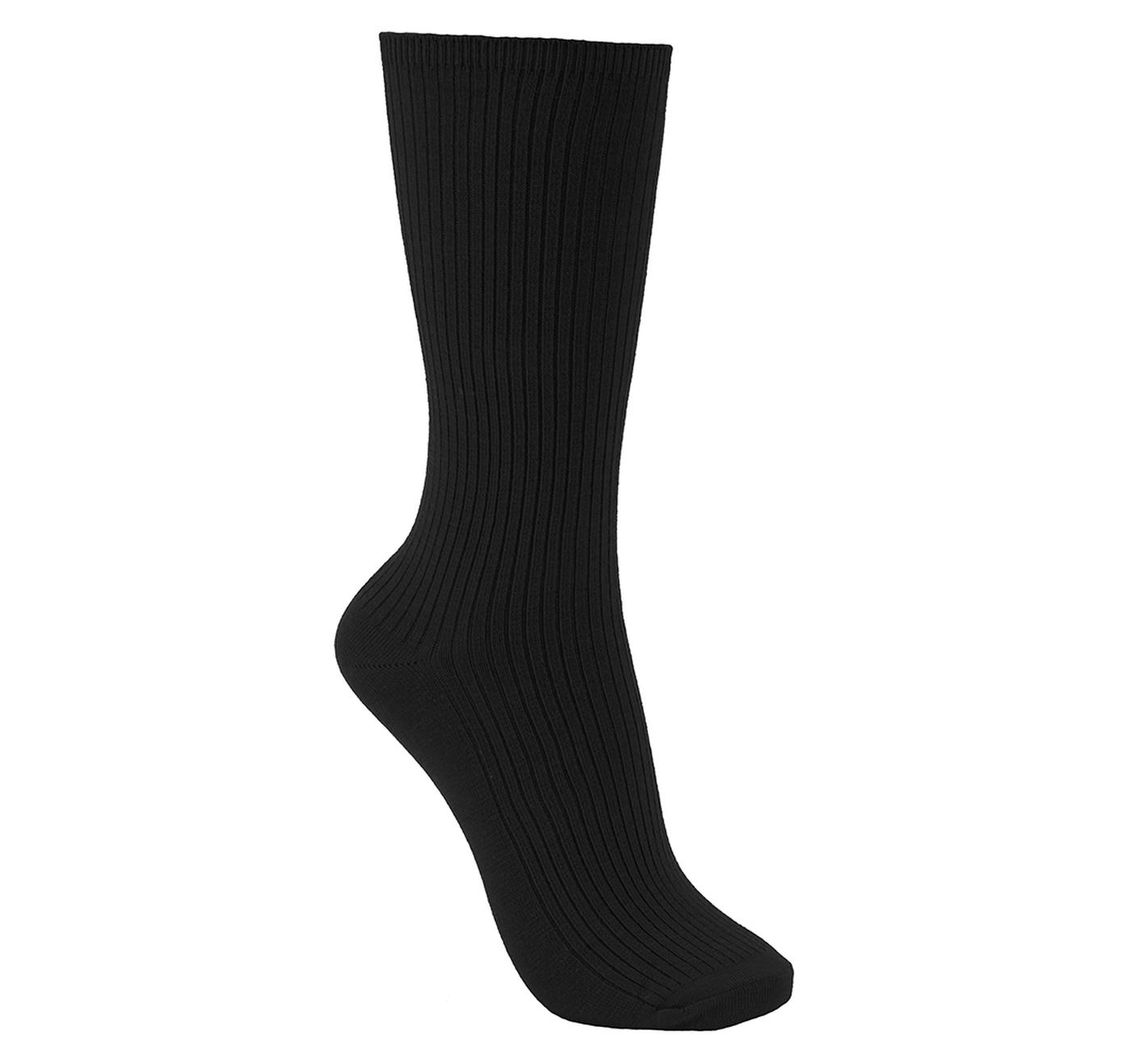 ECCO Womens Ribbed Sock 2-PK