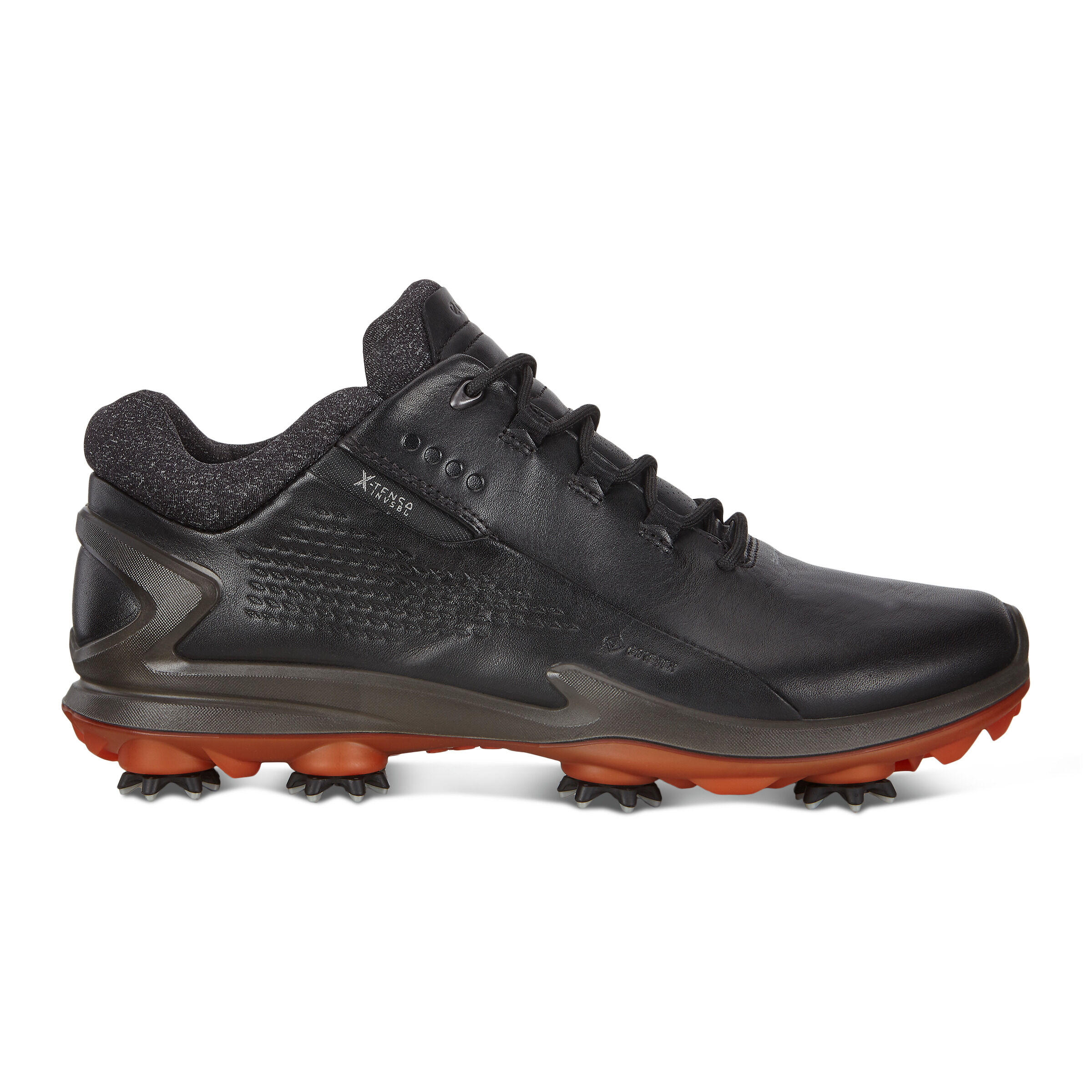 에코 맨 골프화 ECCO Mens BIOM G3 Cleated Golf Shoes,BLACK