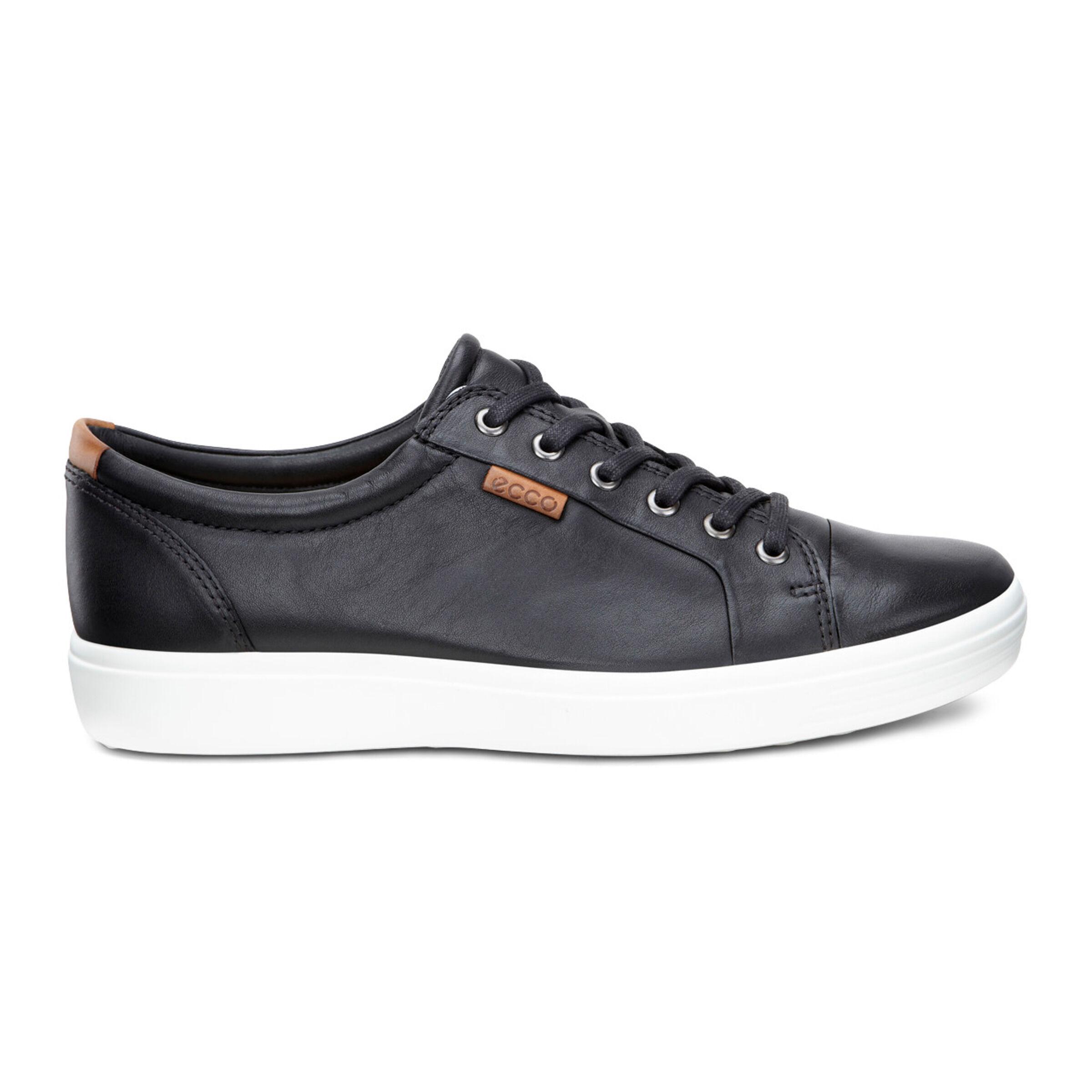 에코 ECCO Soft 7 Mens Sneakers,black