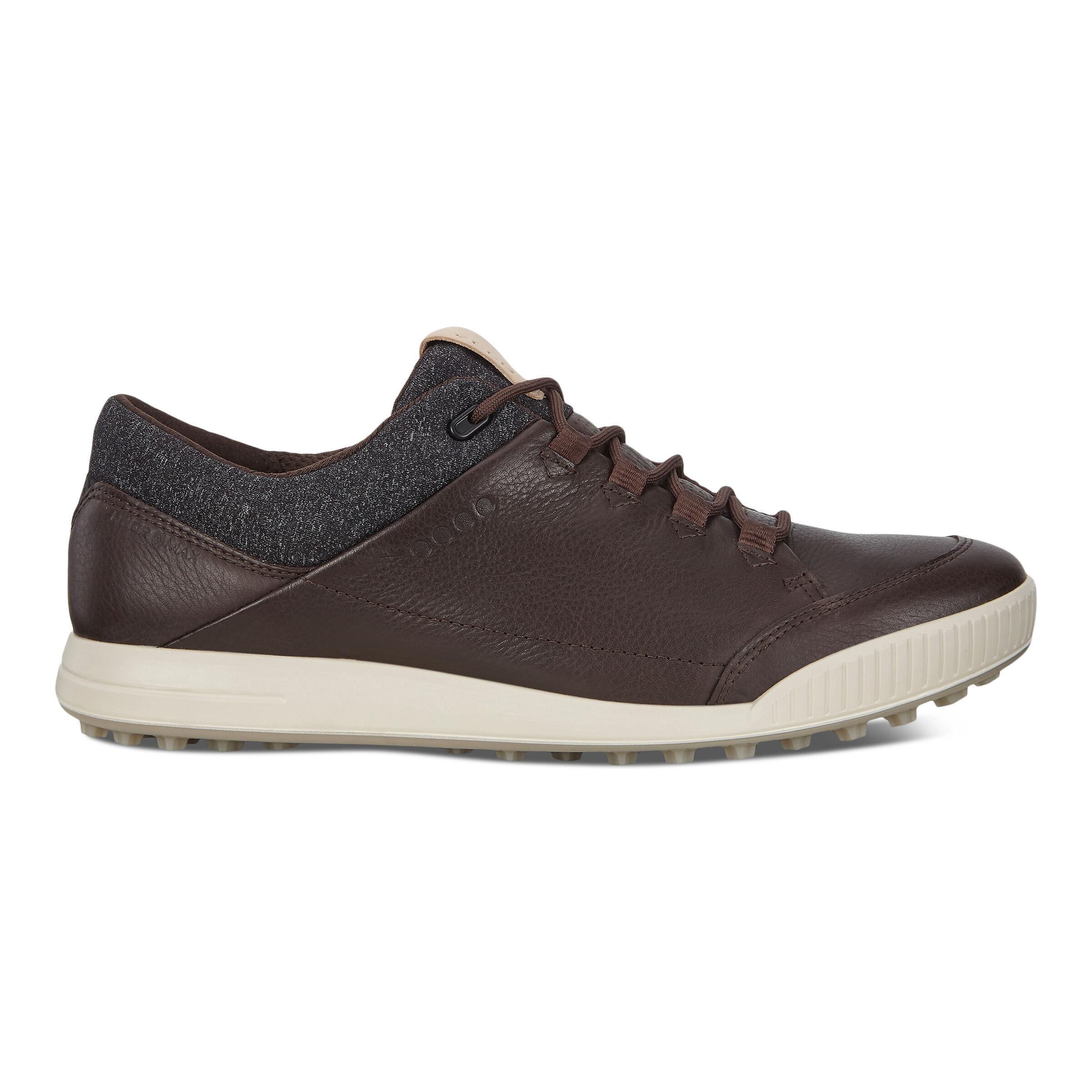 에코 맨 골프화 ECCO Mens STREET RETRO Golf Shoes,MOCHA