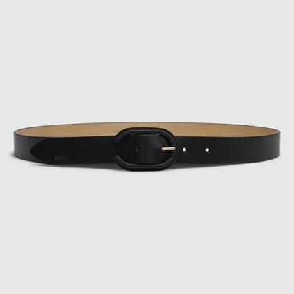 ECCO Formal Covered Belt