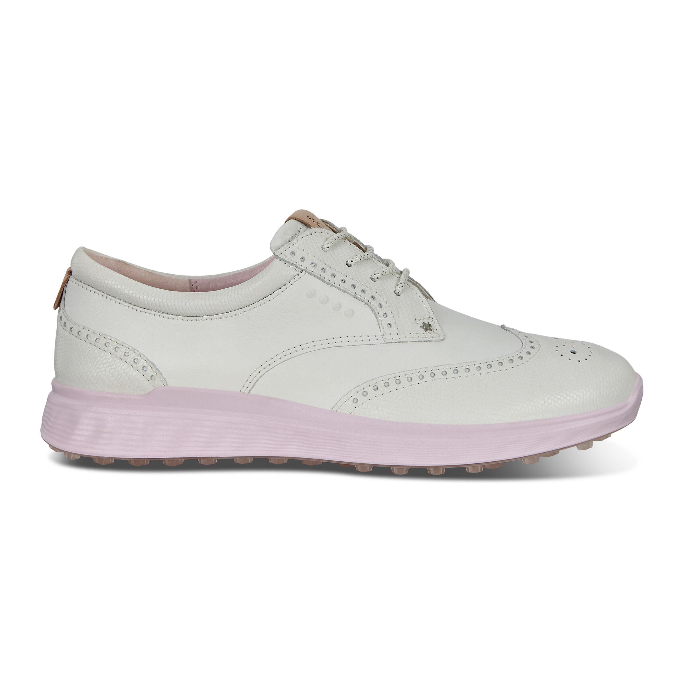 에코 에스-클래식 여성 골프화 ECCO Womens Spikeless Golf S-Classic Shoes,white
