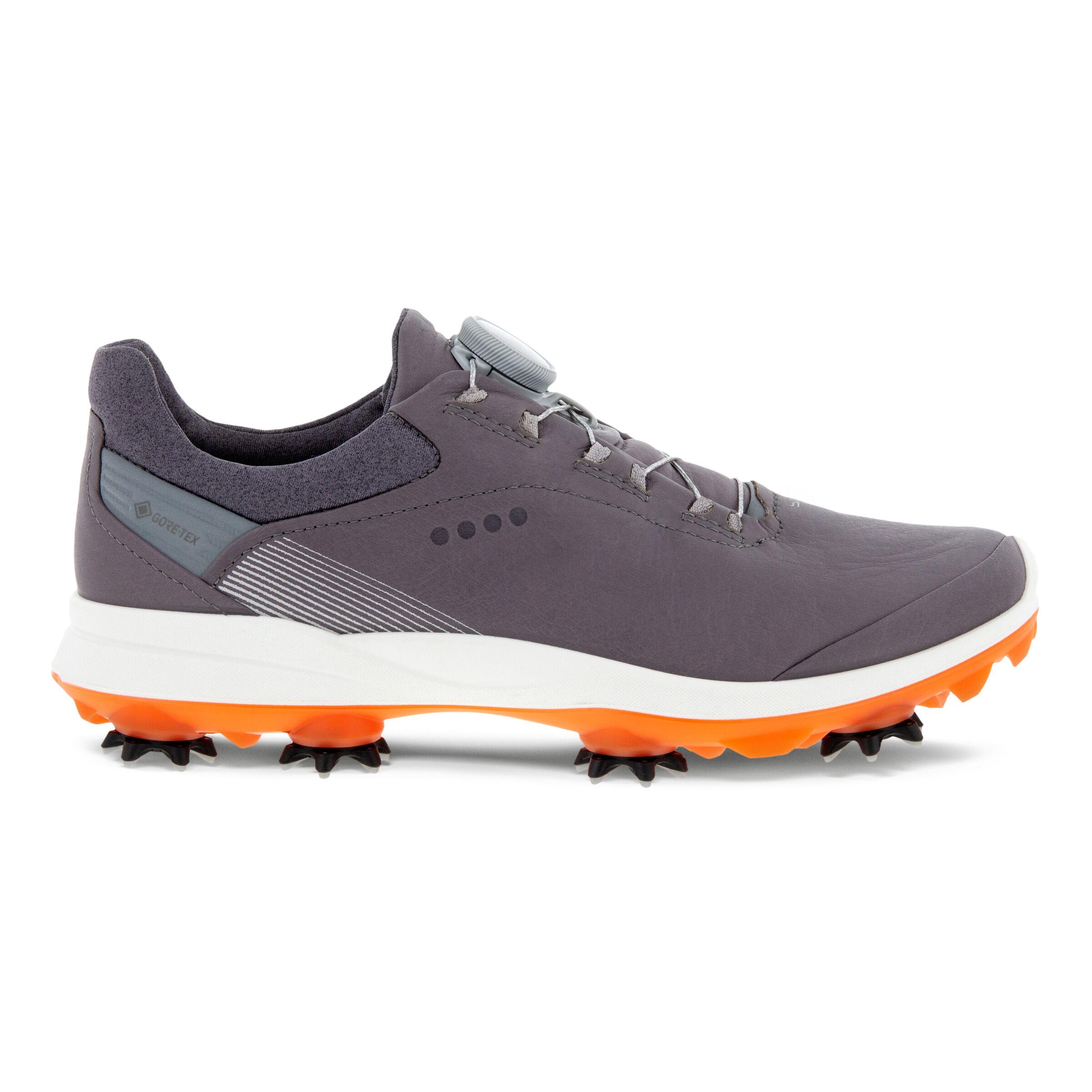 에코 우먼 골프화 ECCO Womens BIOM G3 Spiked Golf Shoe,GRAVITY