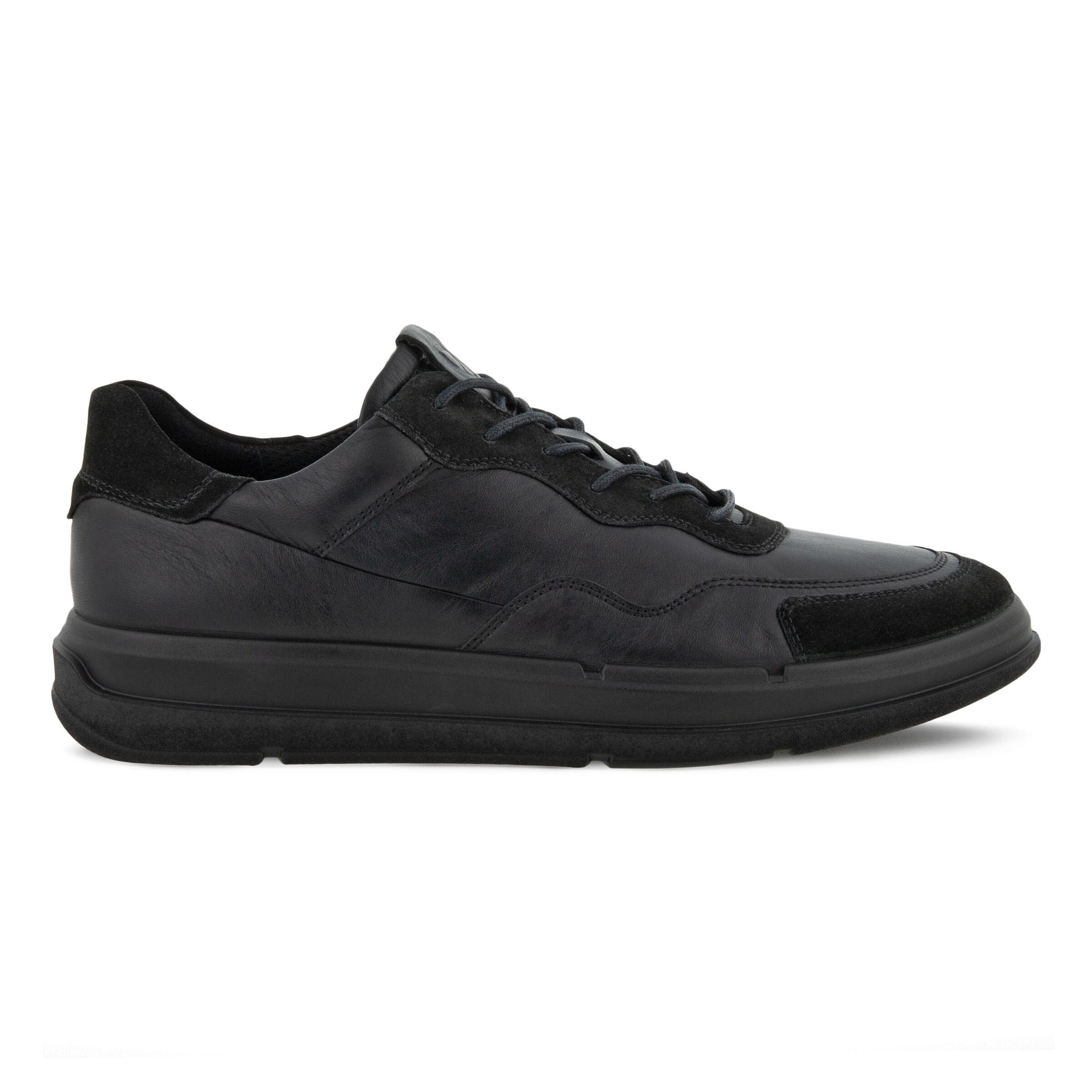 에코 ECCO SOFT X Mens Shoe,BLACK/BLACK