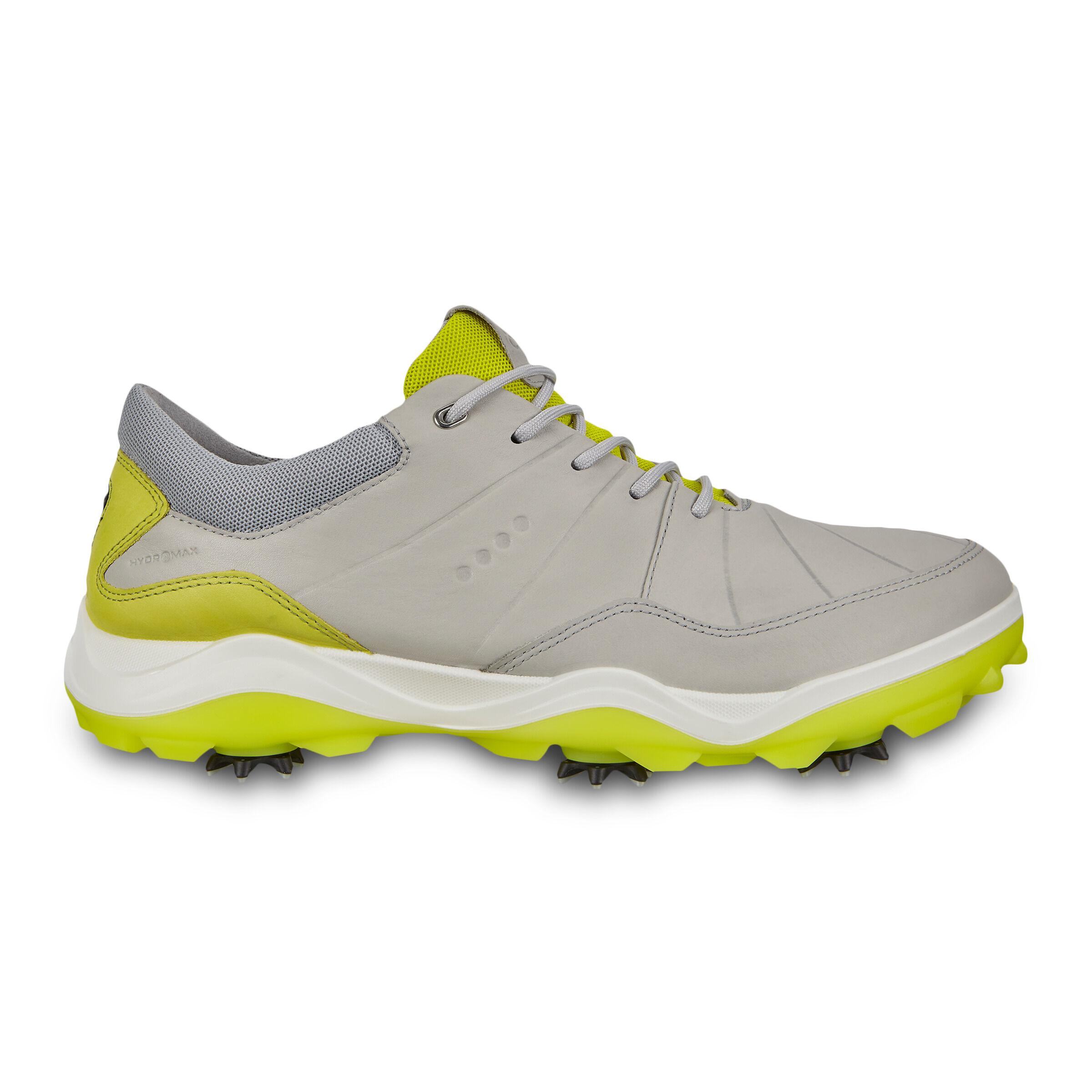 에코 맨 골프화 ECCO Mens Cleated Golf Strike Shoes,Concrete