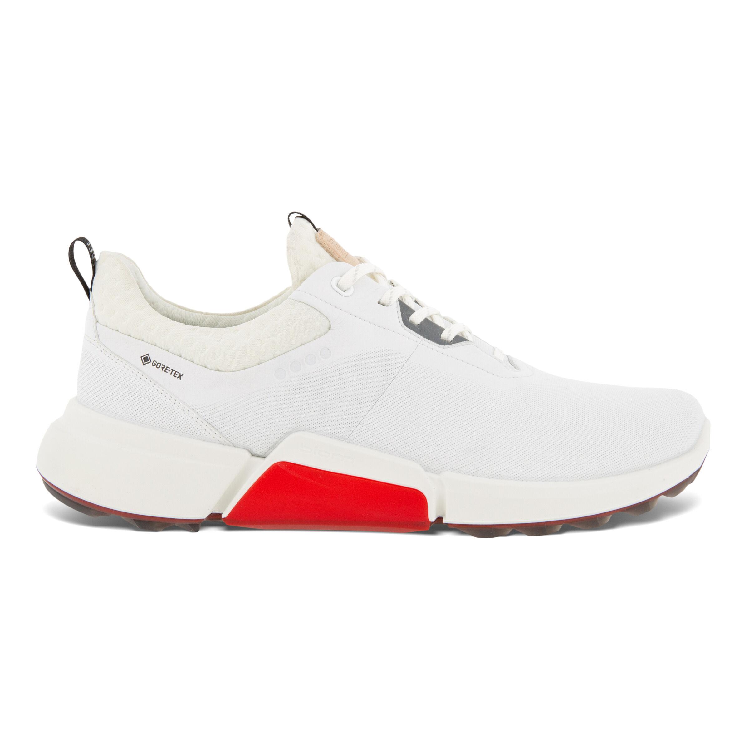 에코 맨 골프화 ECCO Mens BIOM H4 Golf Shoe,WHITE