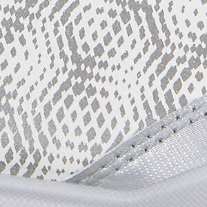 white/silver metallic