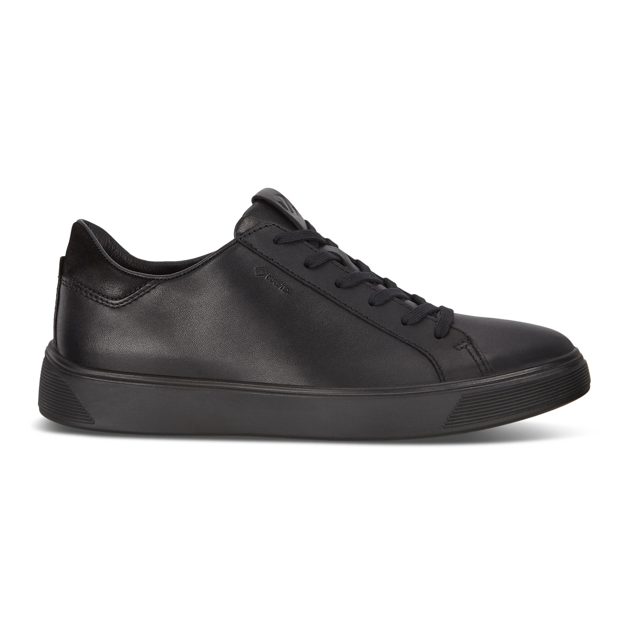 에코 ECCO STREET TRAY Mens Sneakers,BLACK