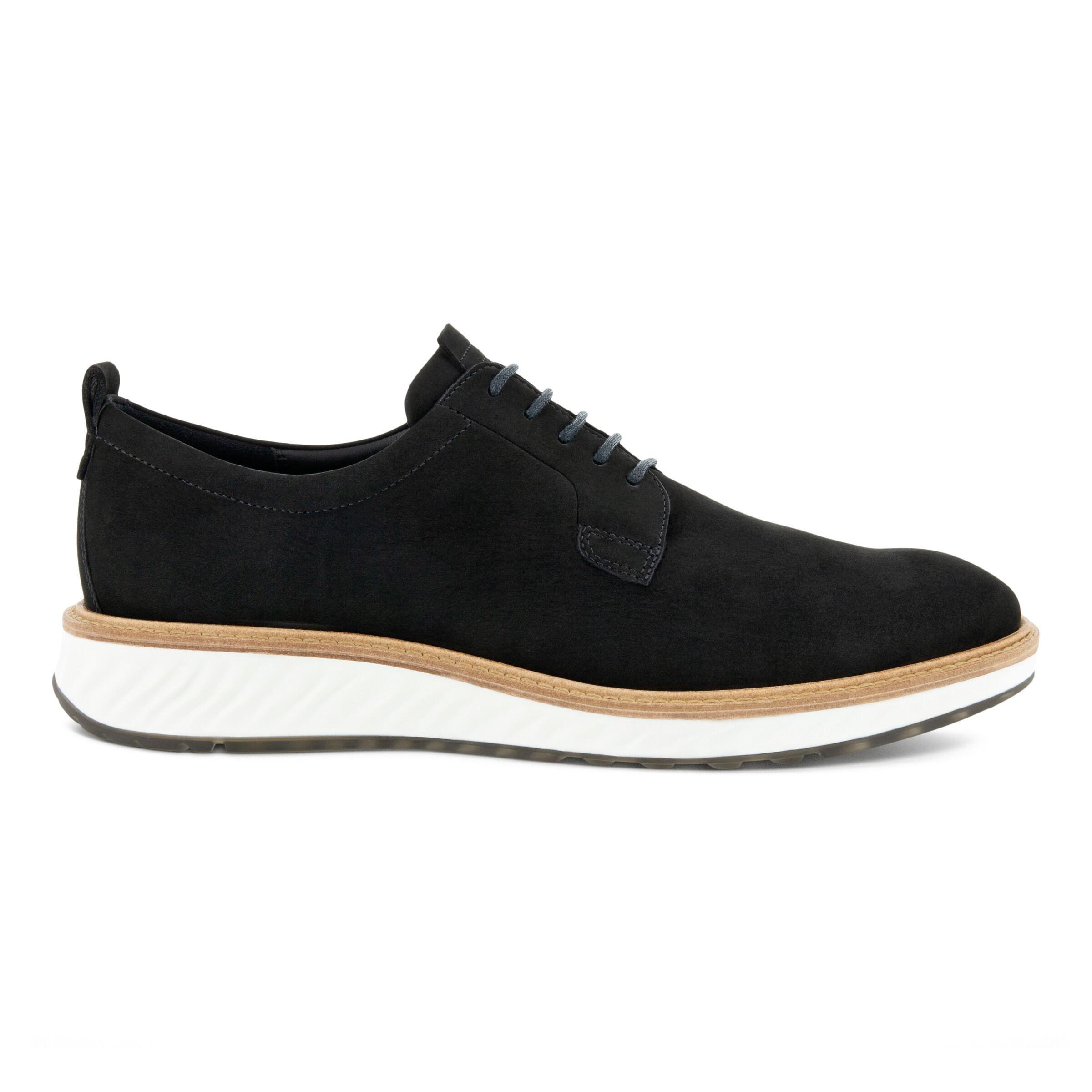 에코 ECCO ST.1 Hybrid Shoe Mens Derby Shoes,BLACK