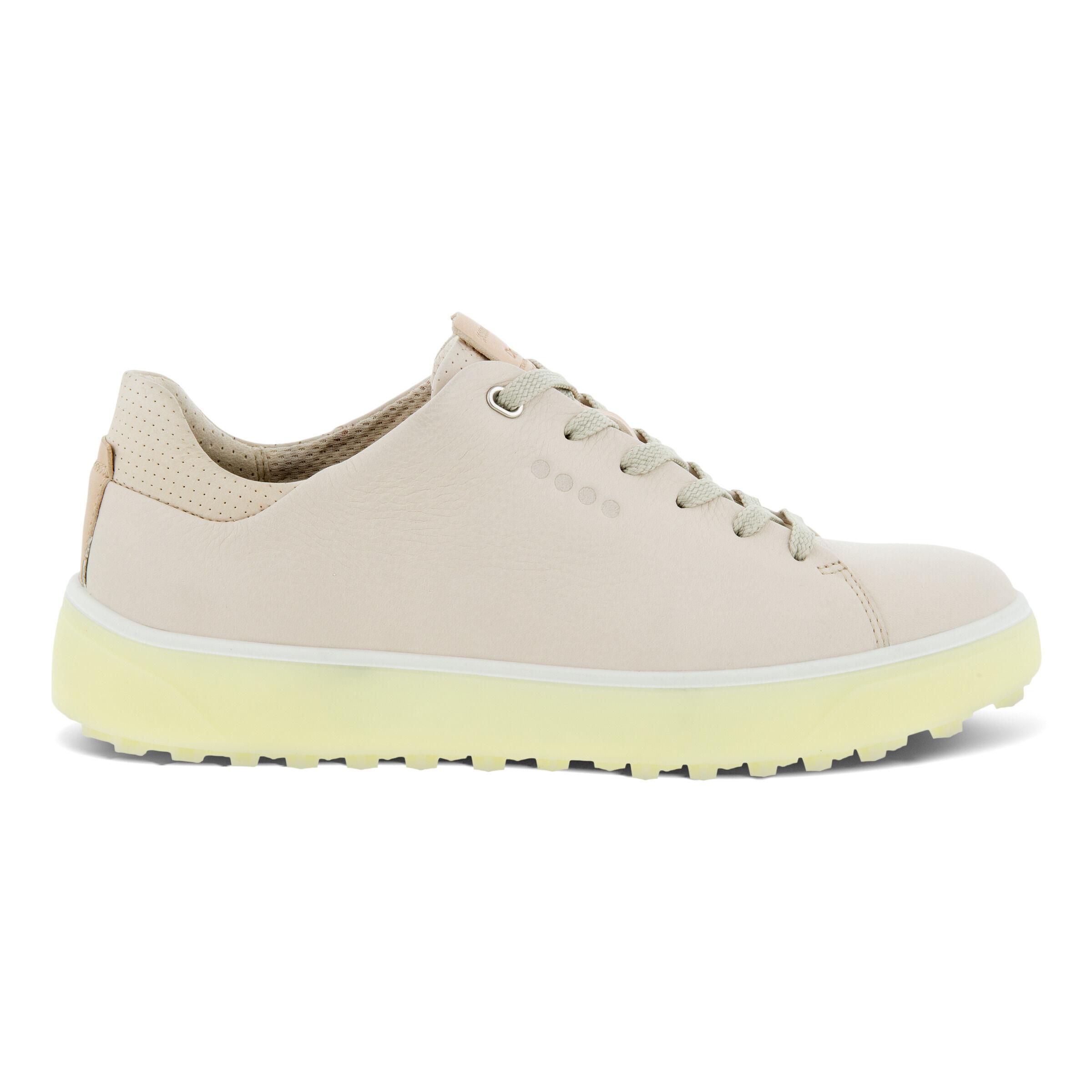 에코 우먼 골프화 ECCO Womens GOLF TRAY Laced Shoes,LIMESTONE
