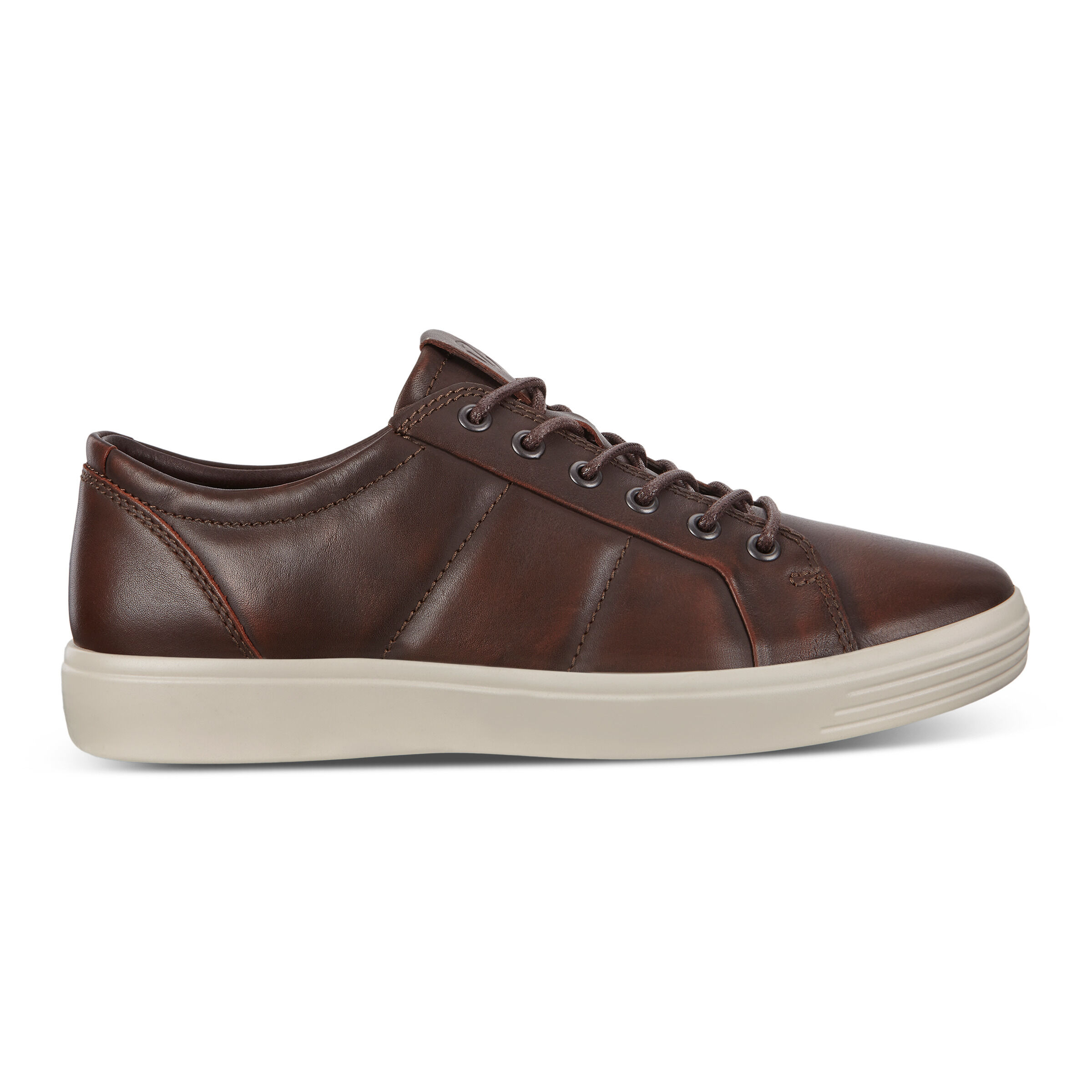 ECCO Soft 7 Mens Padded Leather Sneakers
